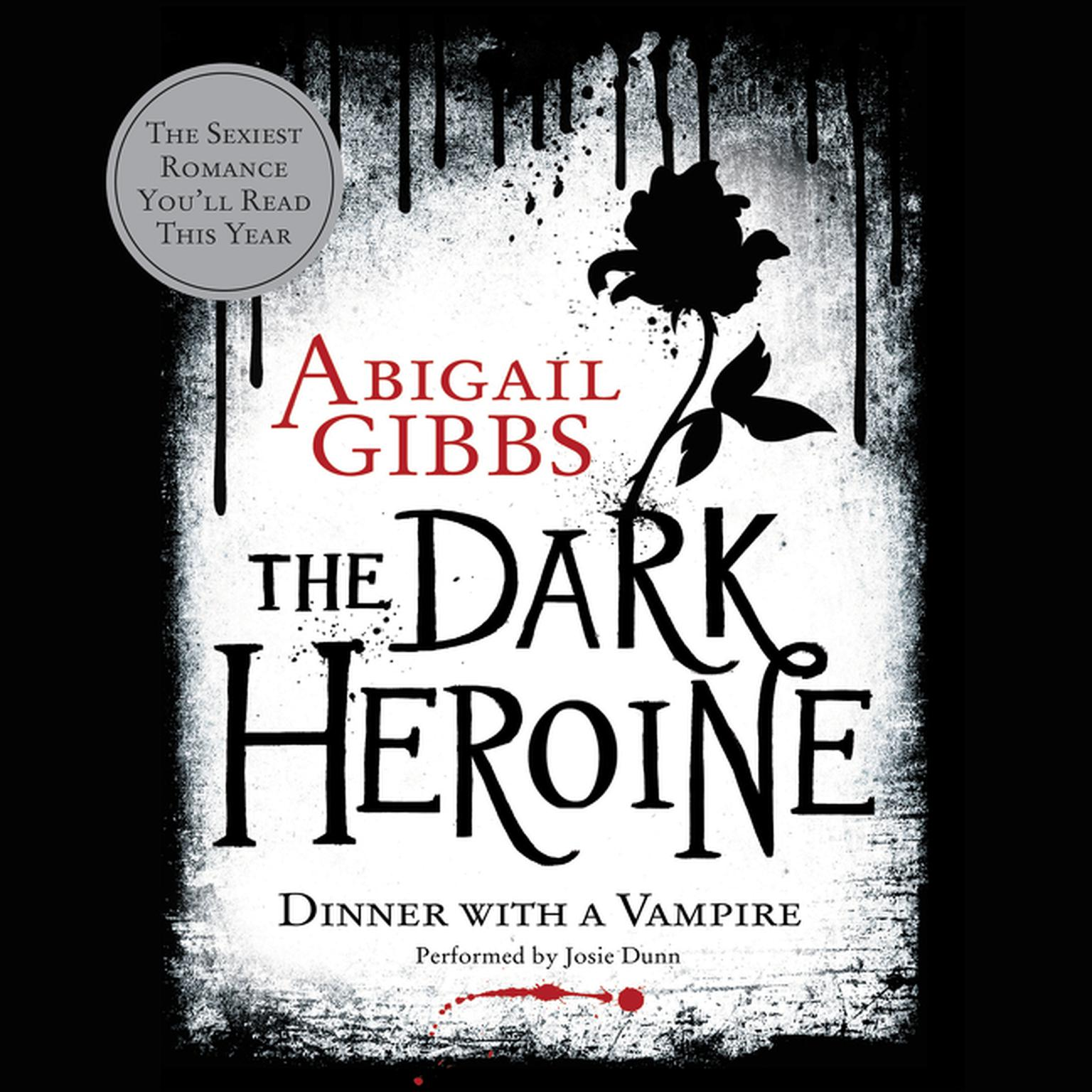 Printable The Dark Heroine: Dinner with a Vampire Audiobook Cover Art