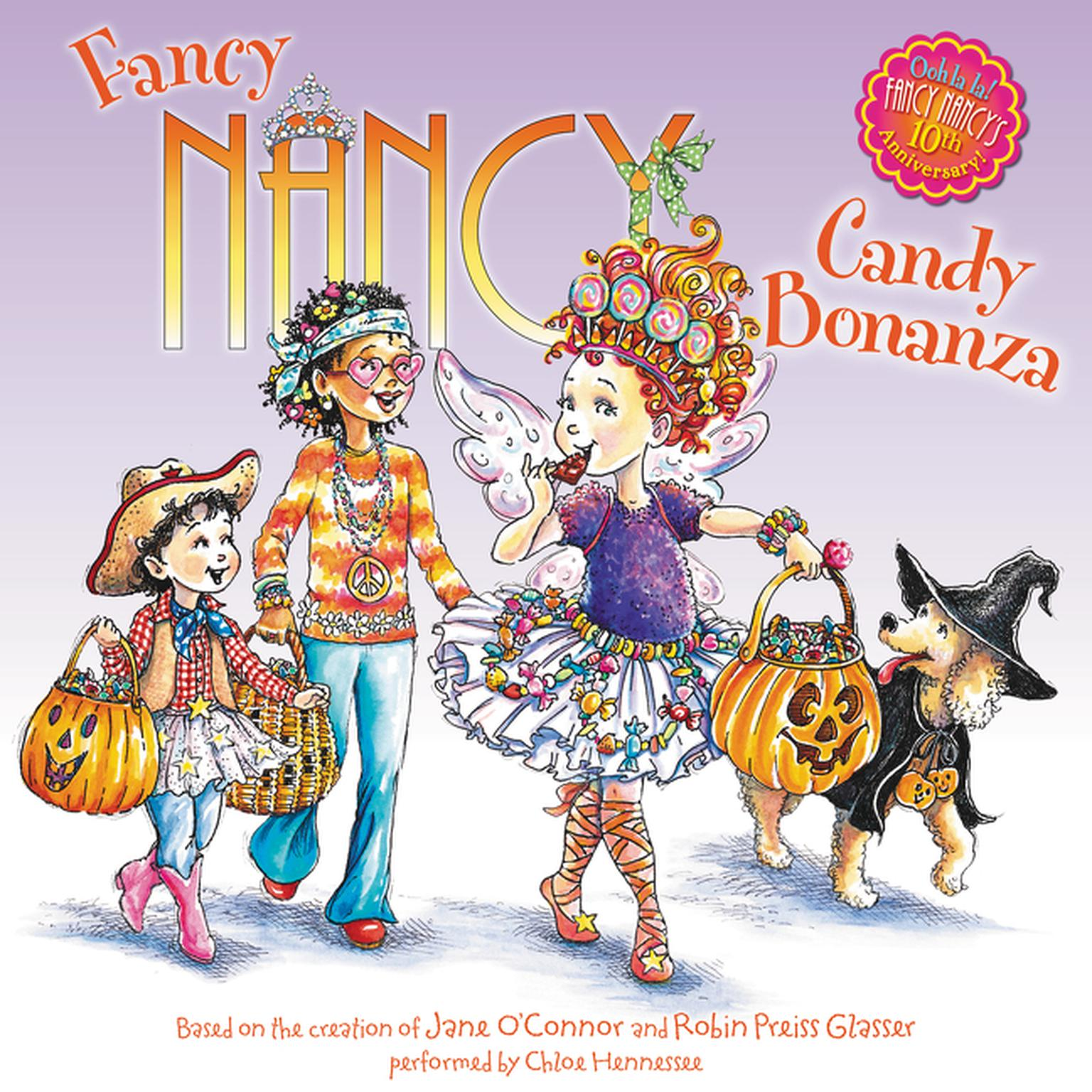 Printable Fancy Nancy: Candy Bonanza Audiobook Cover Art