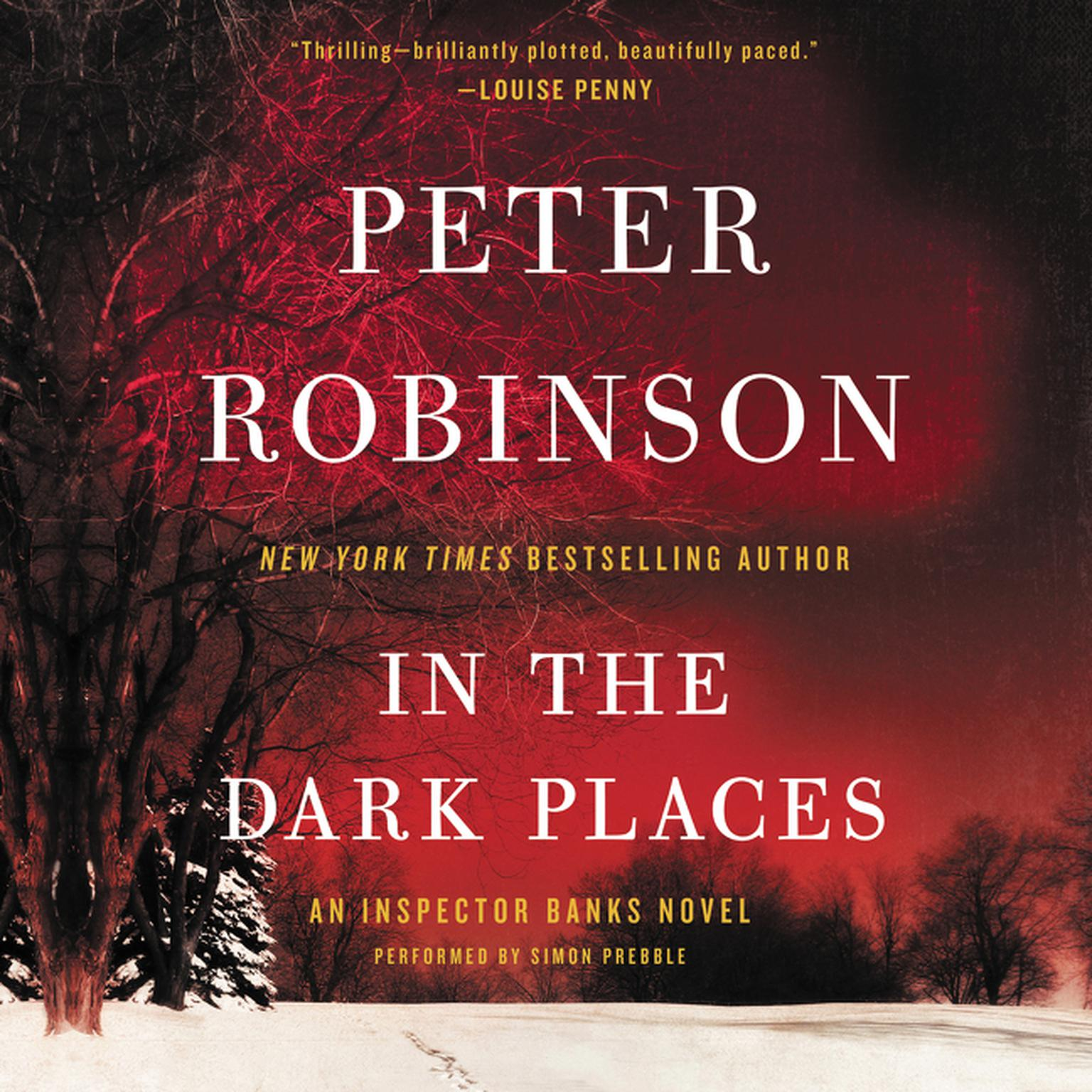 Printable In the Dark Places: An Inspector Banks Novel Audiobook Cover Art