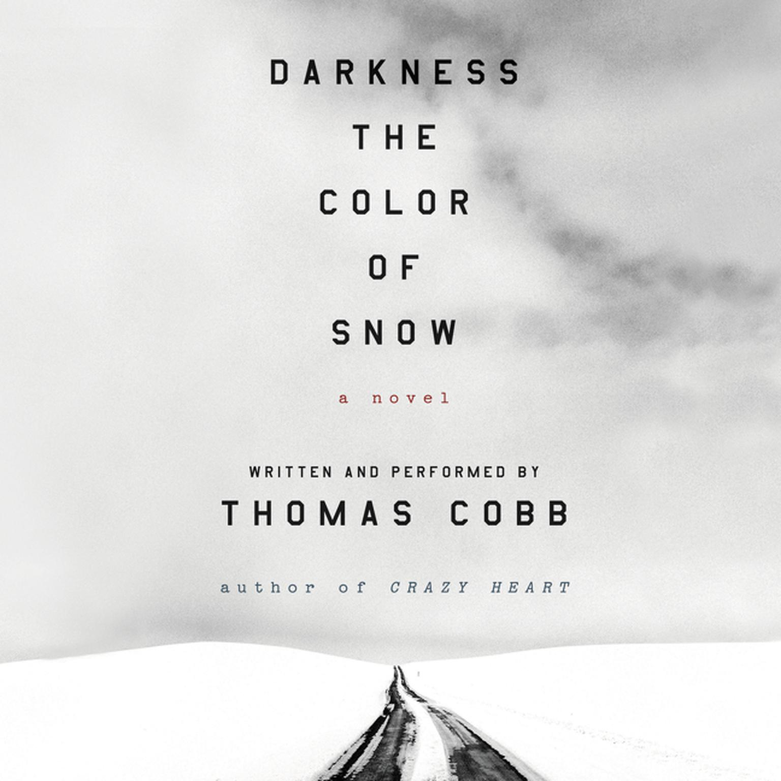 Printable Darkness the Color of Snow: A Novel Audiobook Cover Art