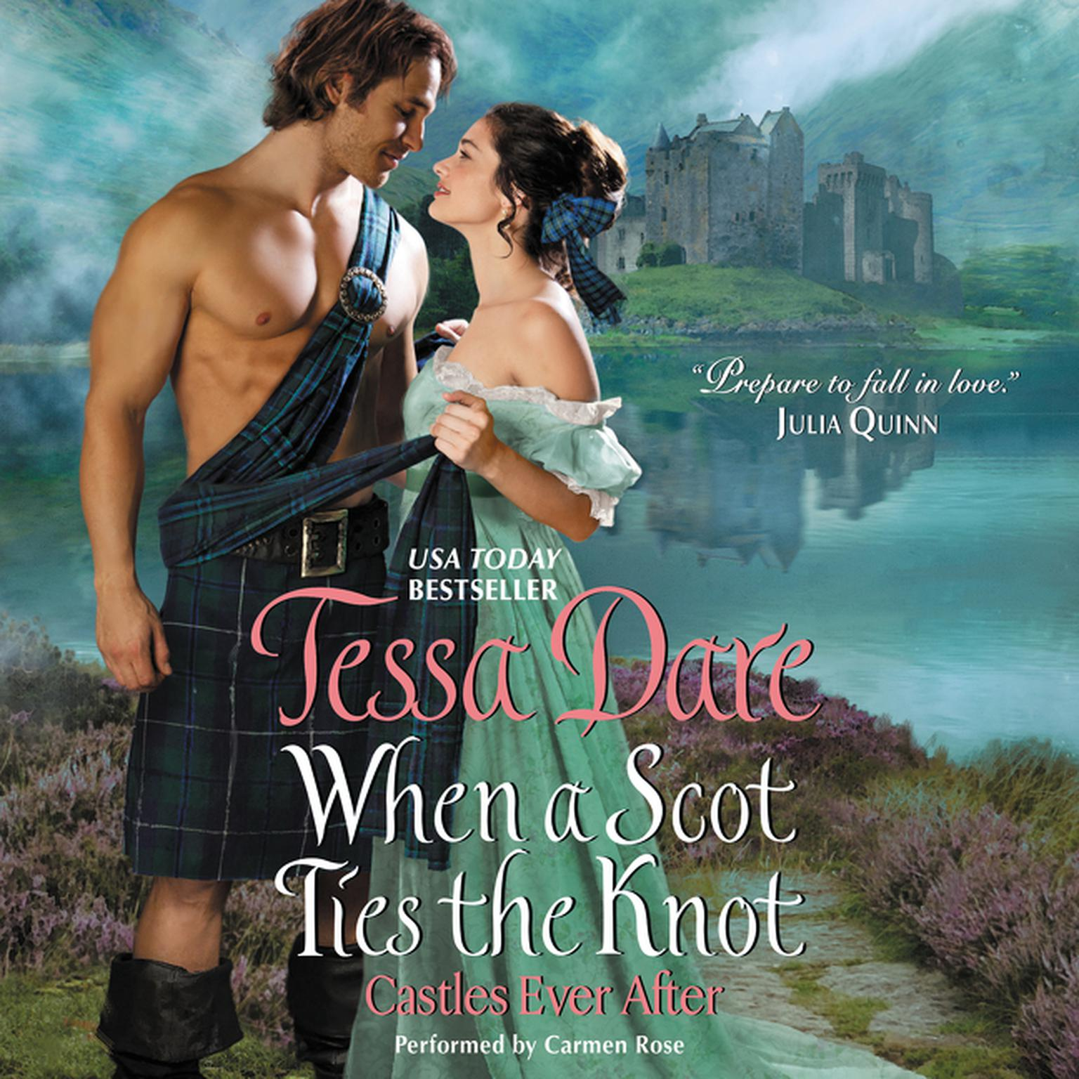 Printable When a Scot Ties the Knot: Castles Ever After Audiobook Cover Art