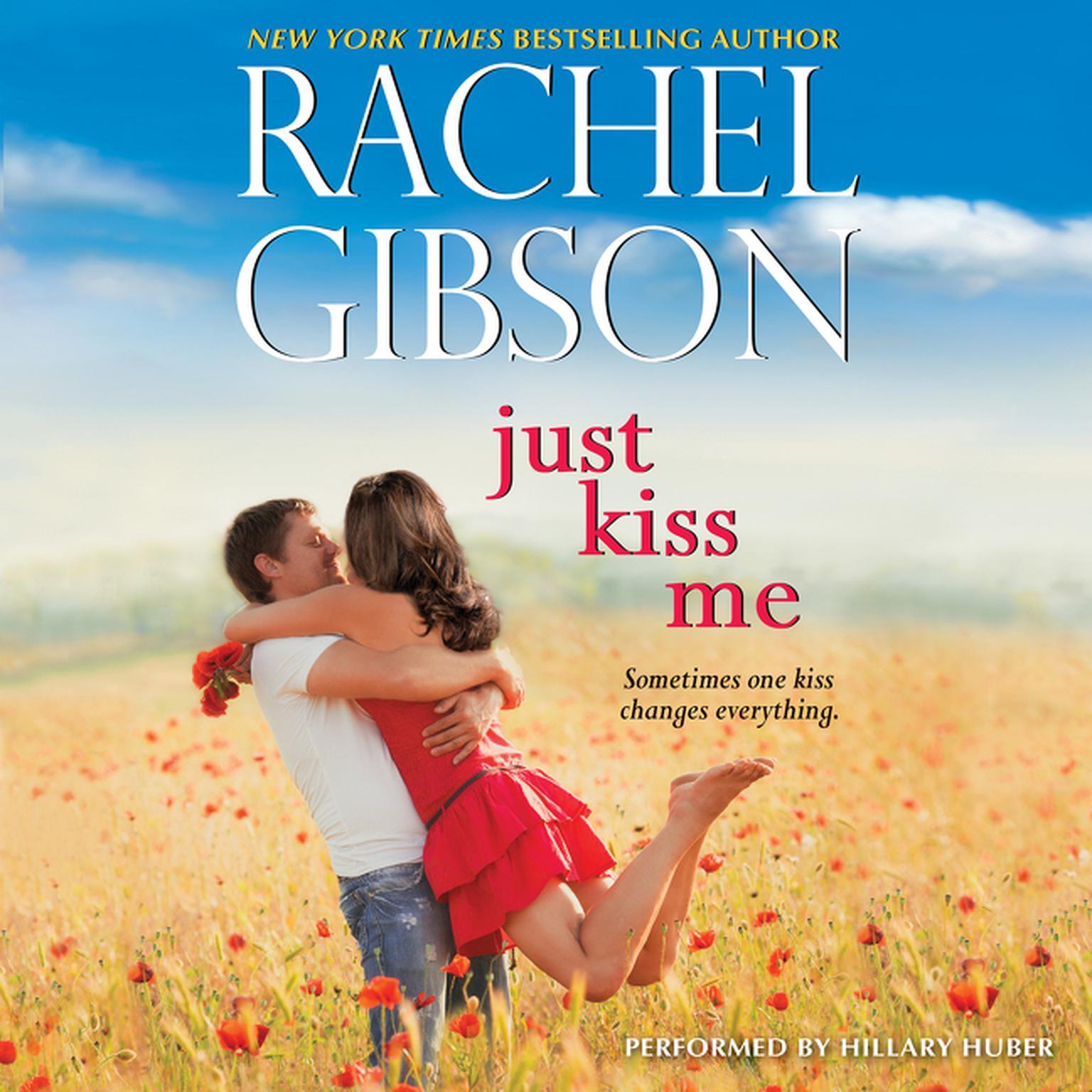 Printable Just Kiss Me Audiobook Cover Art