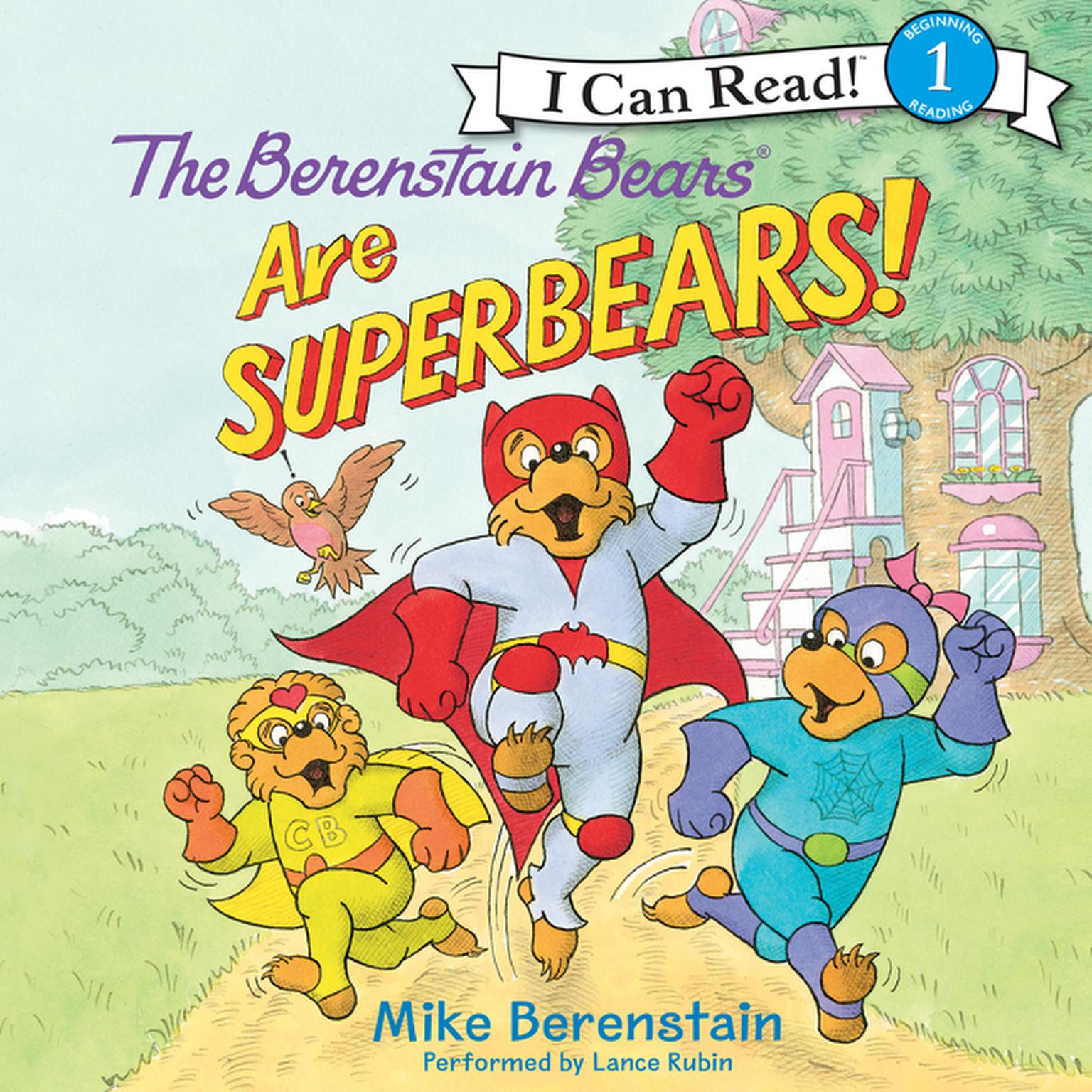 Printable The Berenstain Bears Are SuperBears! Audiobook Cover Art