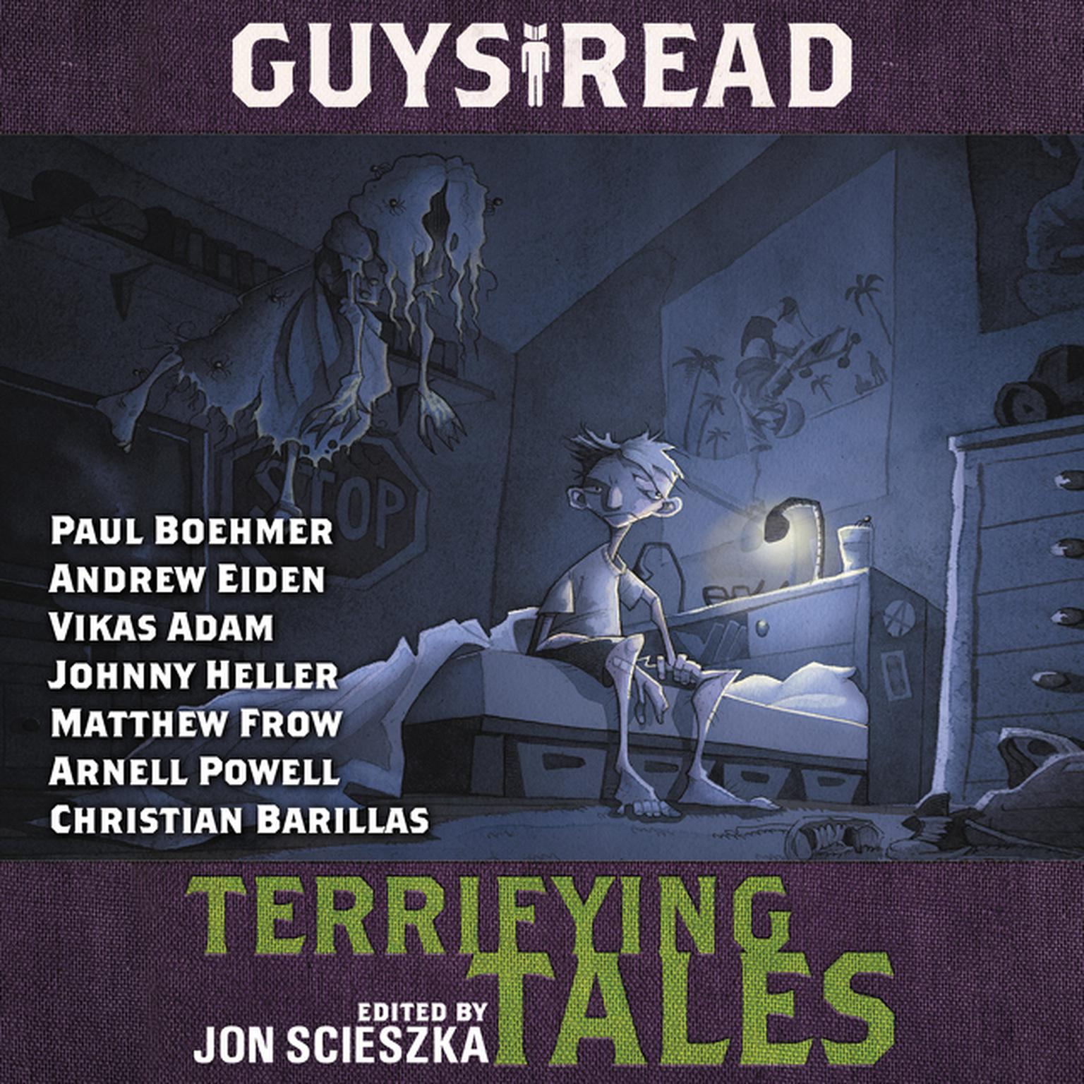 Printable Guys Read: Terrifying Tales Audiobook Cover Art