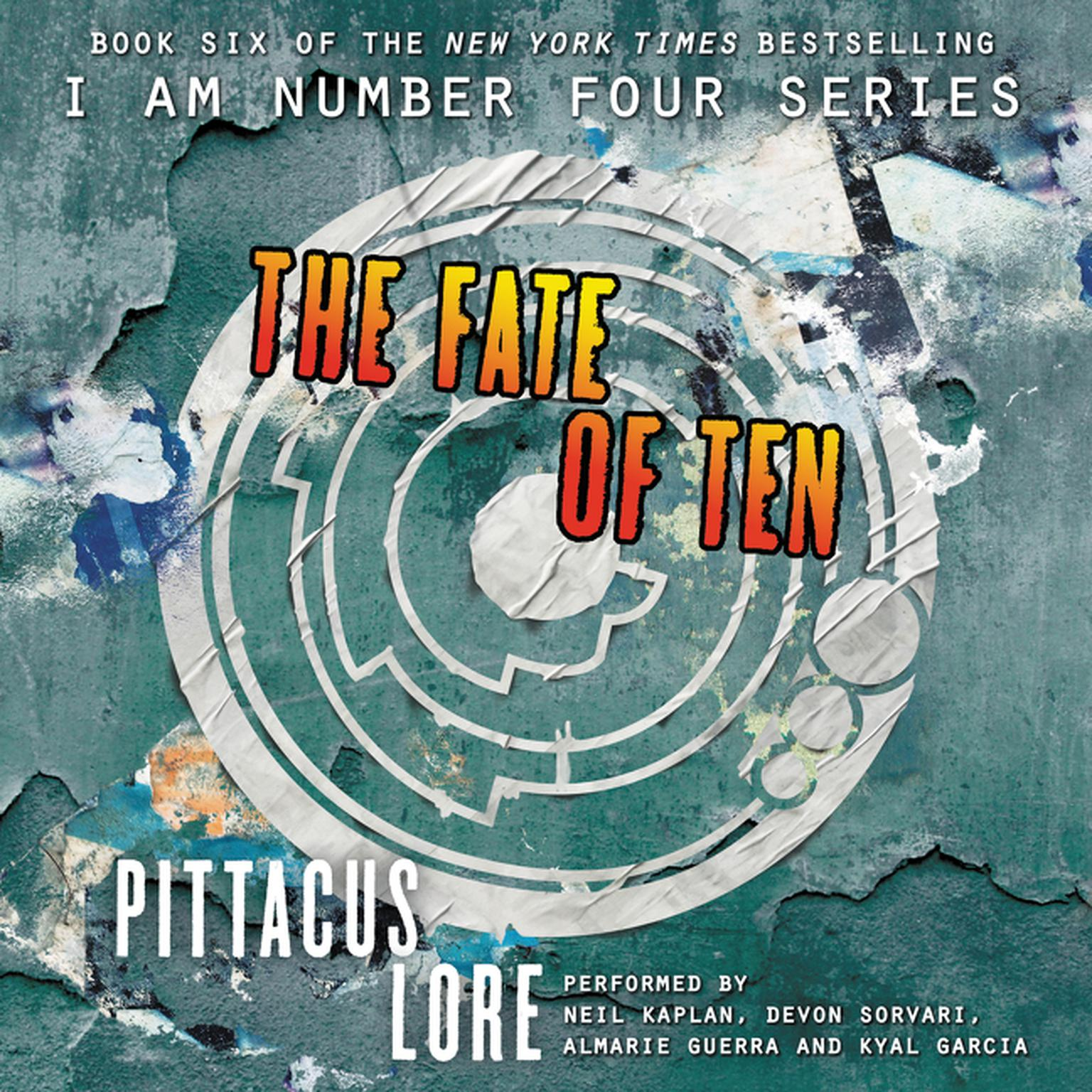 Printable The Fate of Ten Audiobook Cover Art