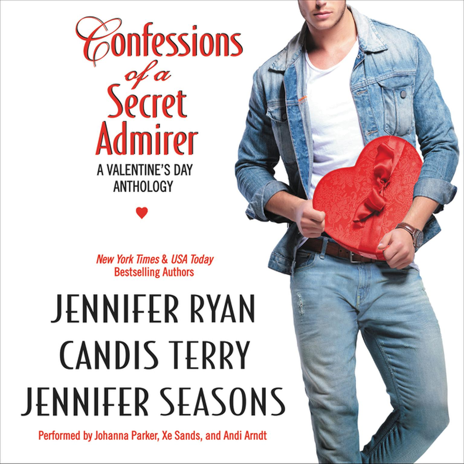 Printable Confessions of a Secret Admirer Audiobook Cover Art