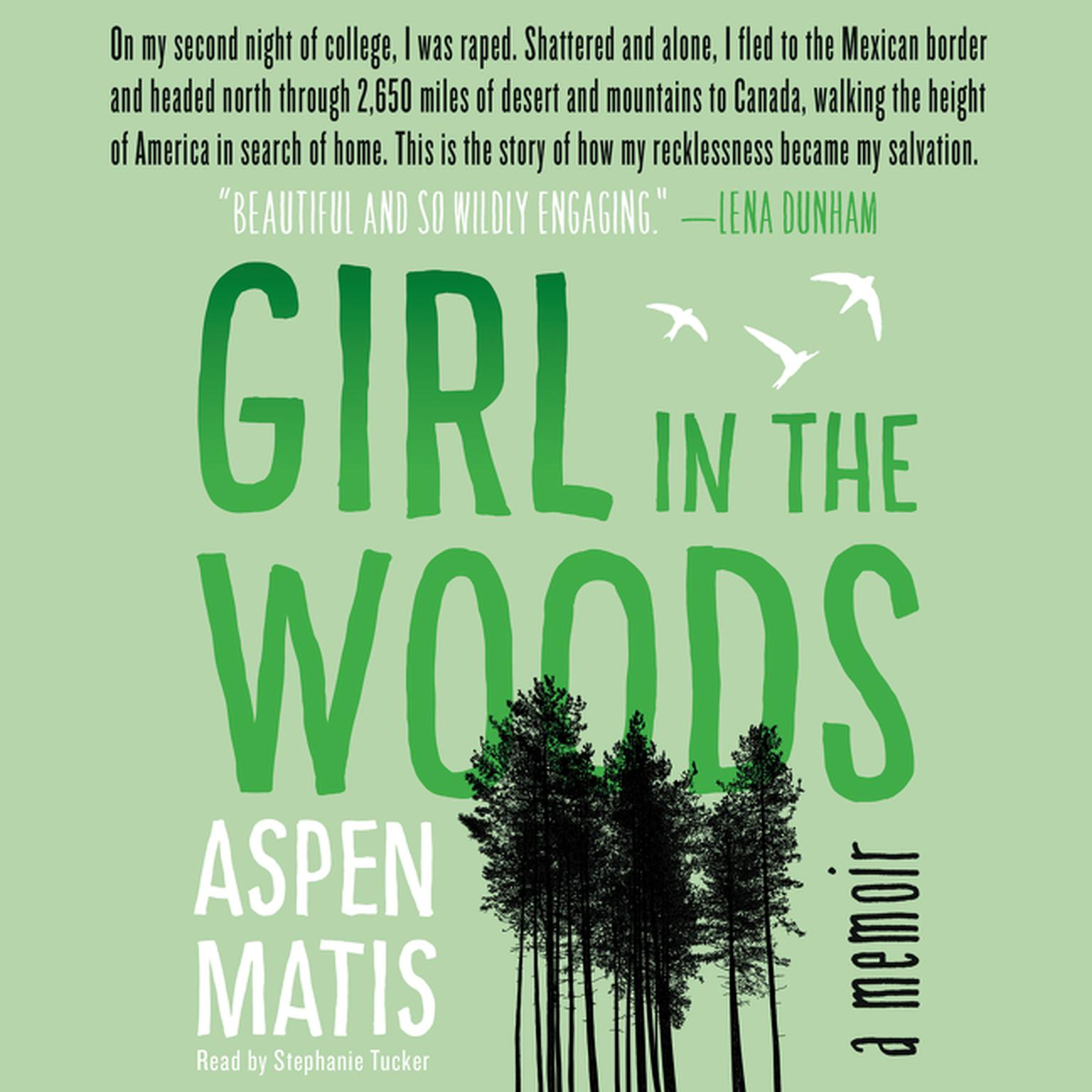 Printable Girl in the Woods: A Memoir Audiobook Cover Art