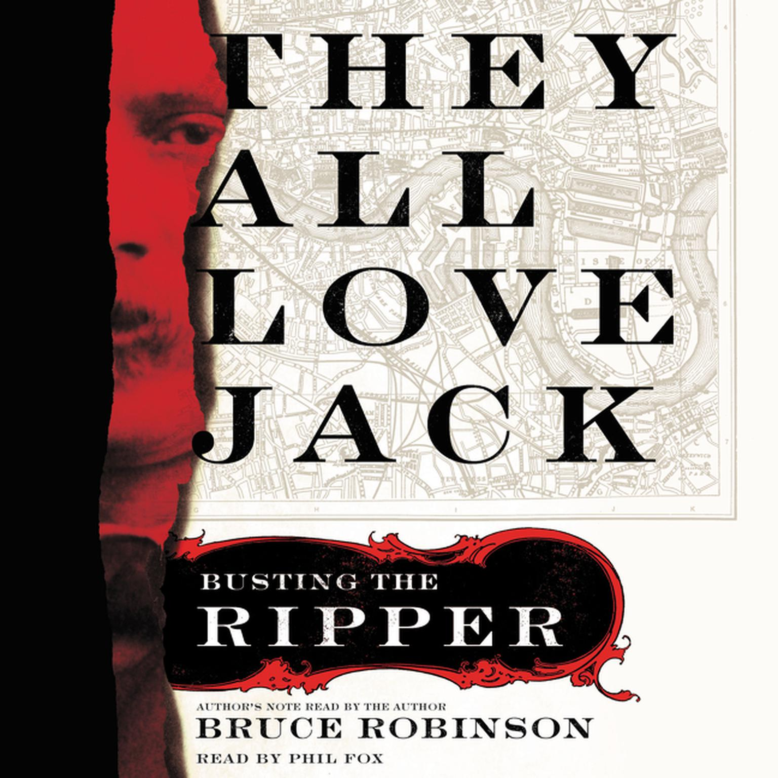 Printable They All Love Jack: Busting the Ripper Audiobook Cover Art