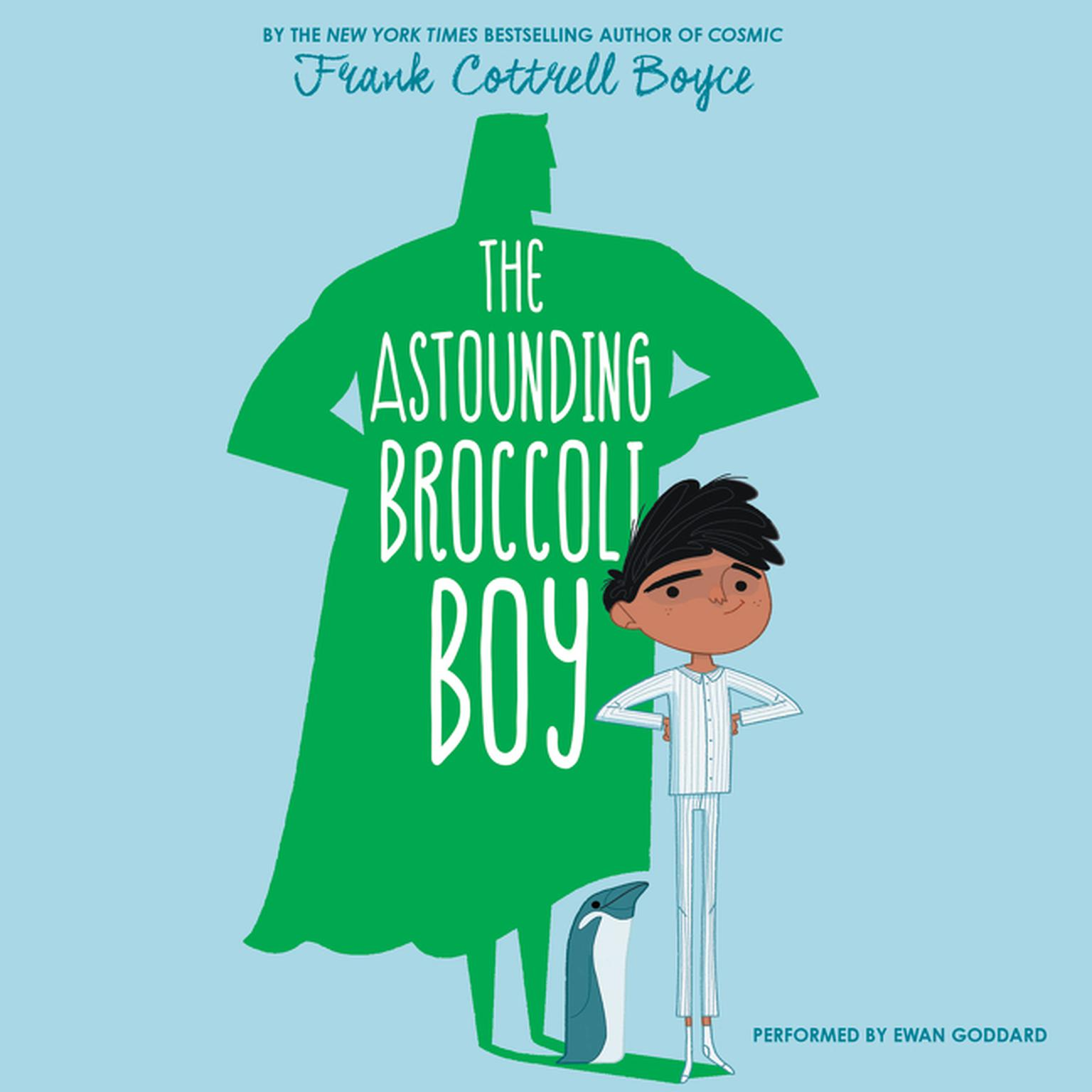 Printable The Astounding Broccoli Boy Audiobook Cover Art