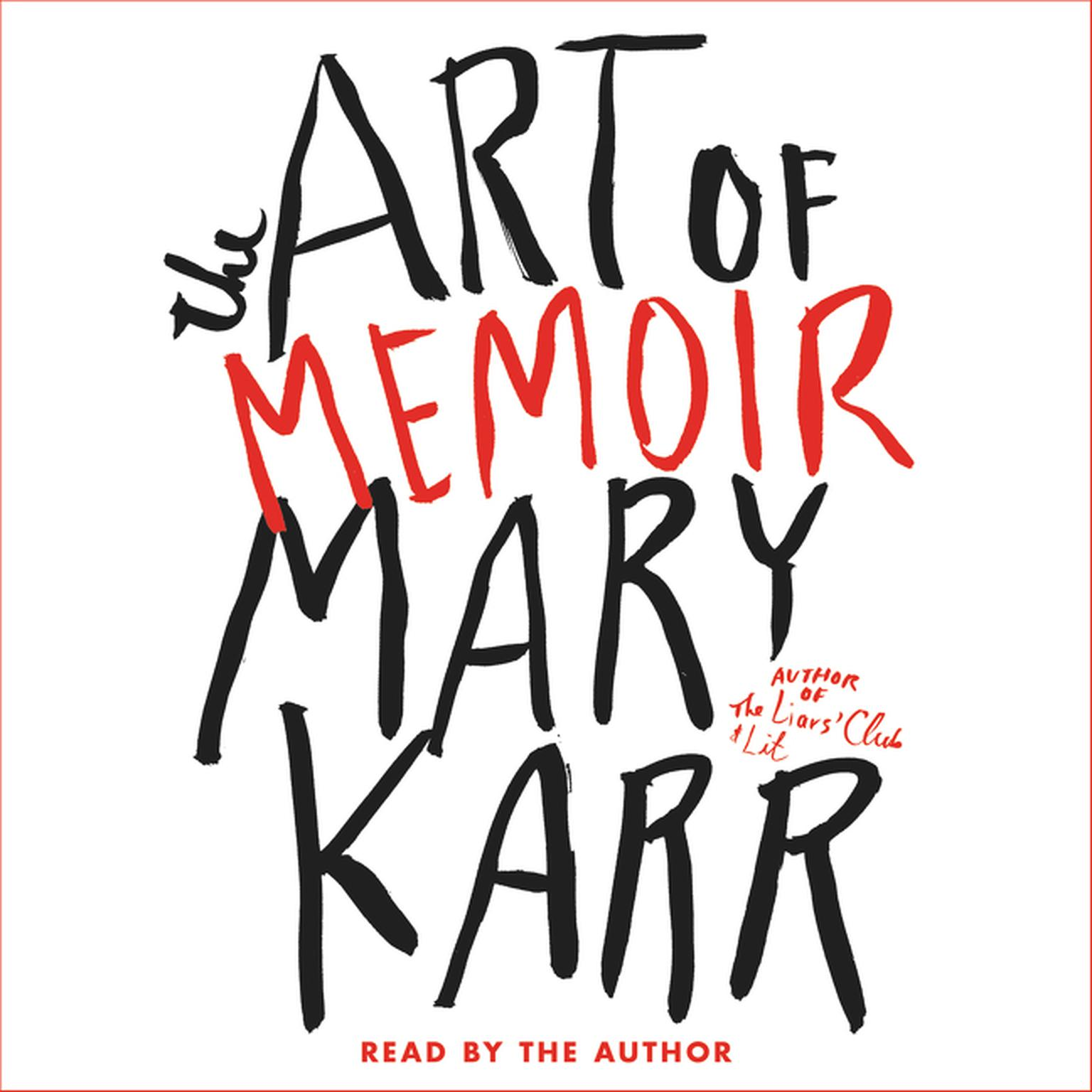 Printable The Art of Memoir Audiobook Cover Art