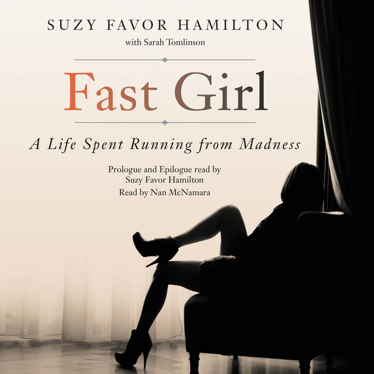 Printable Fast Girl: A Life Spent Running from Madness Audiobook Cover Art