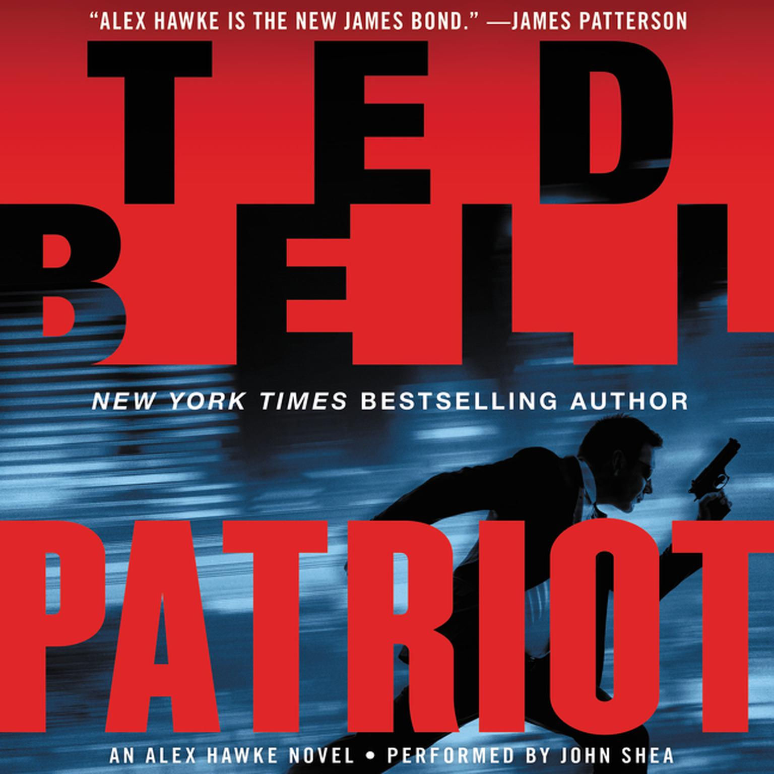 Printable Patriot: An Alex Hawke Novel Audiobook Cover Art