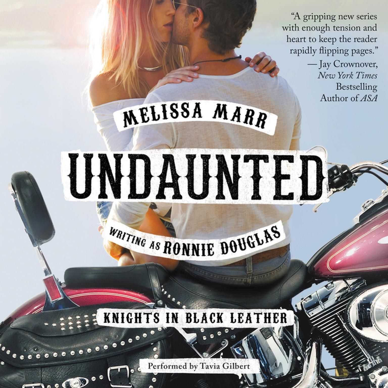 Printable Undaunted: Knights in Black Leather Audiobook Cover Art