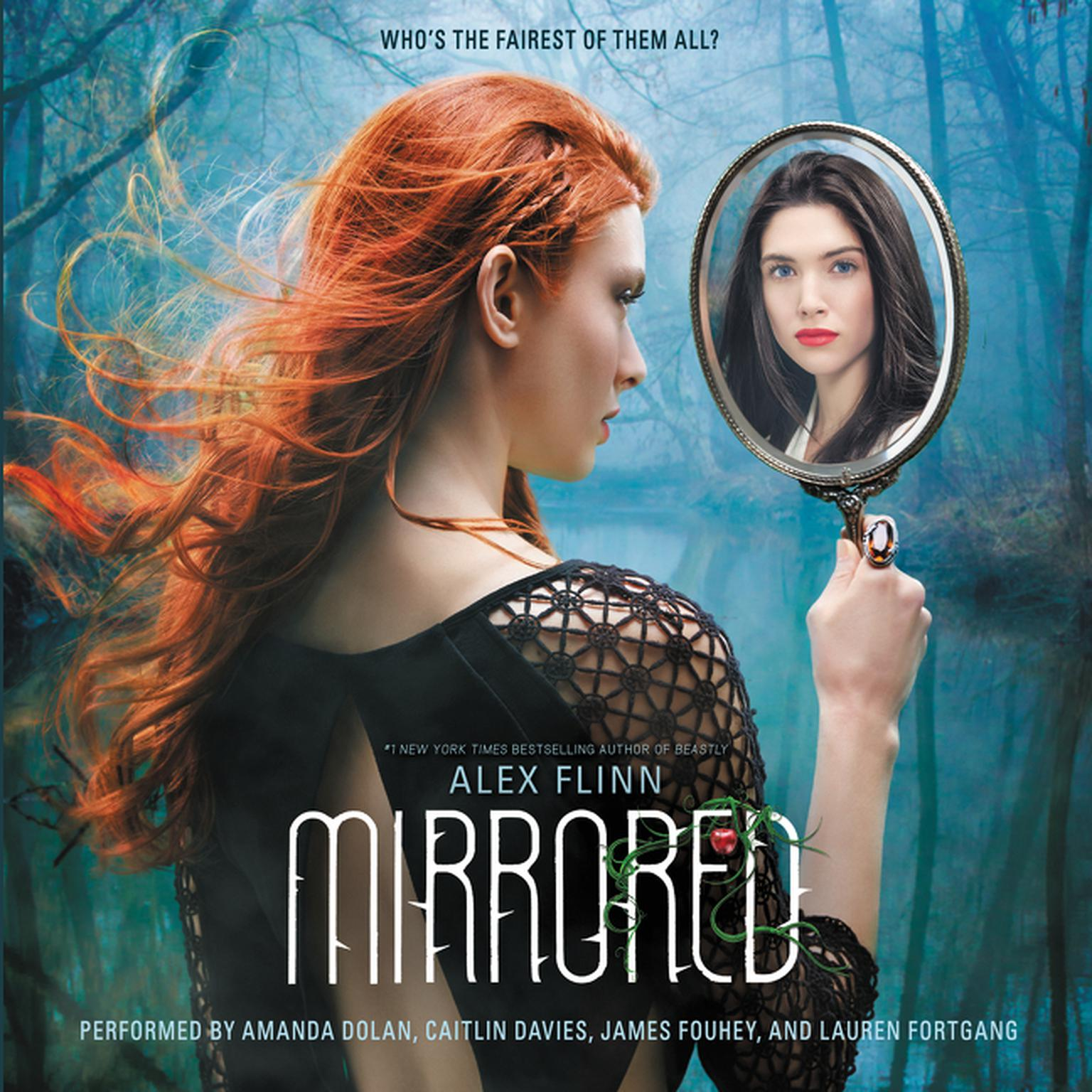 Printable Mirrored Audiobook Cover Art