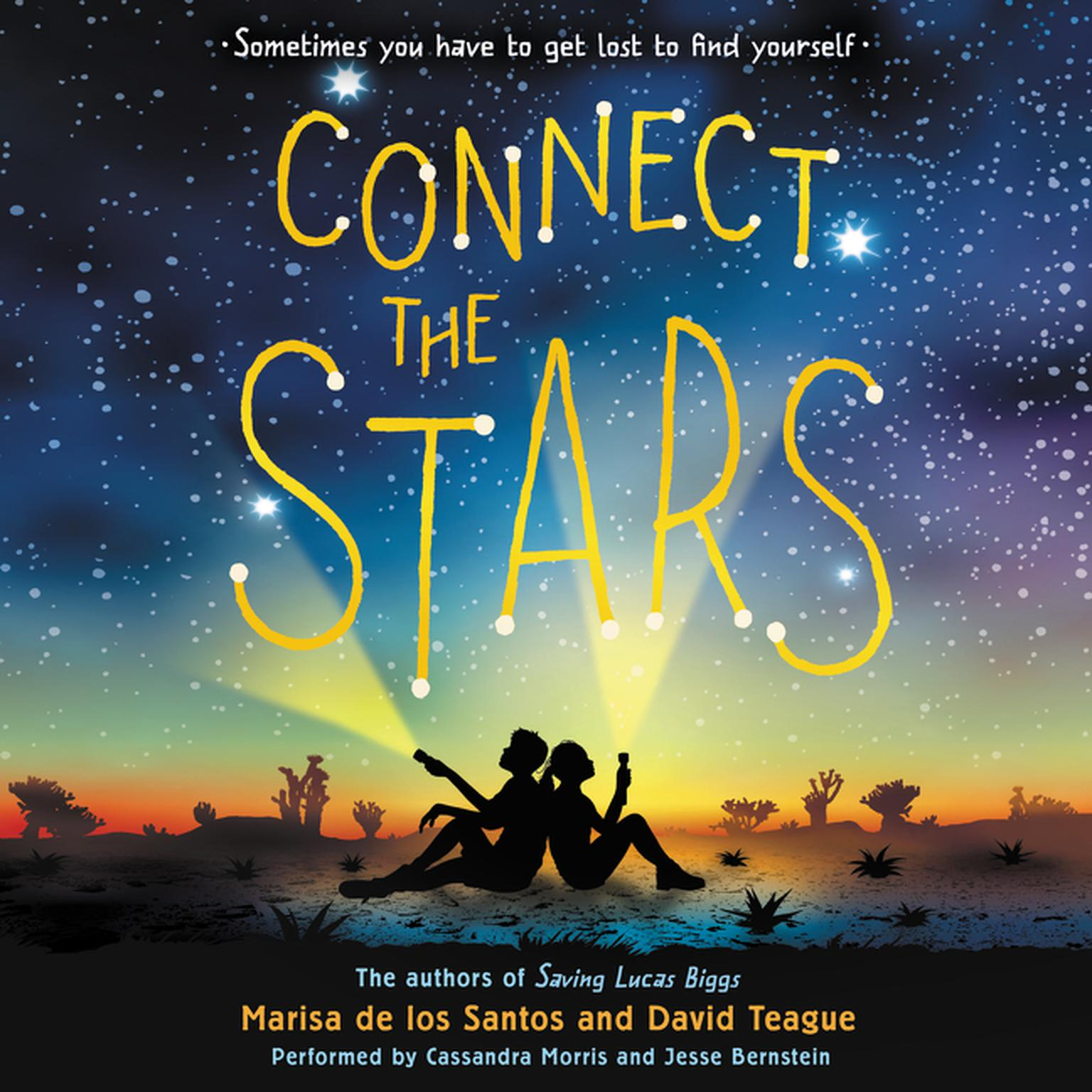 Printable Connect the Stars Audiobook Cover Art