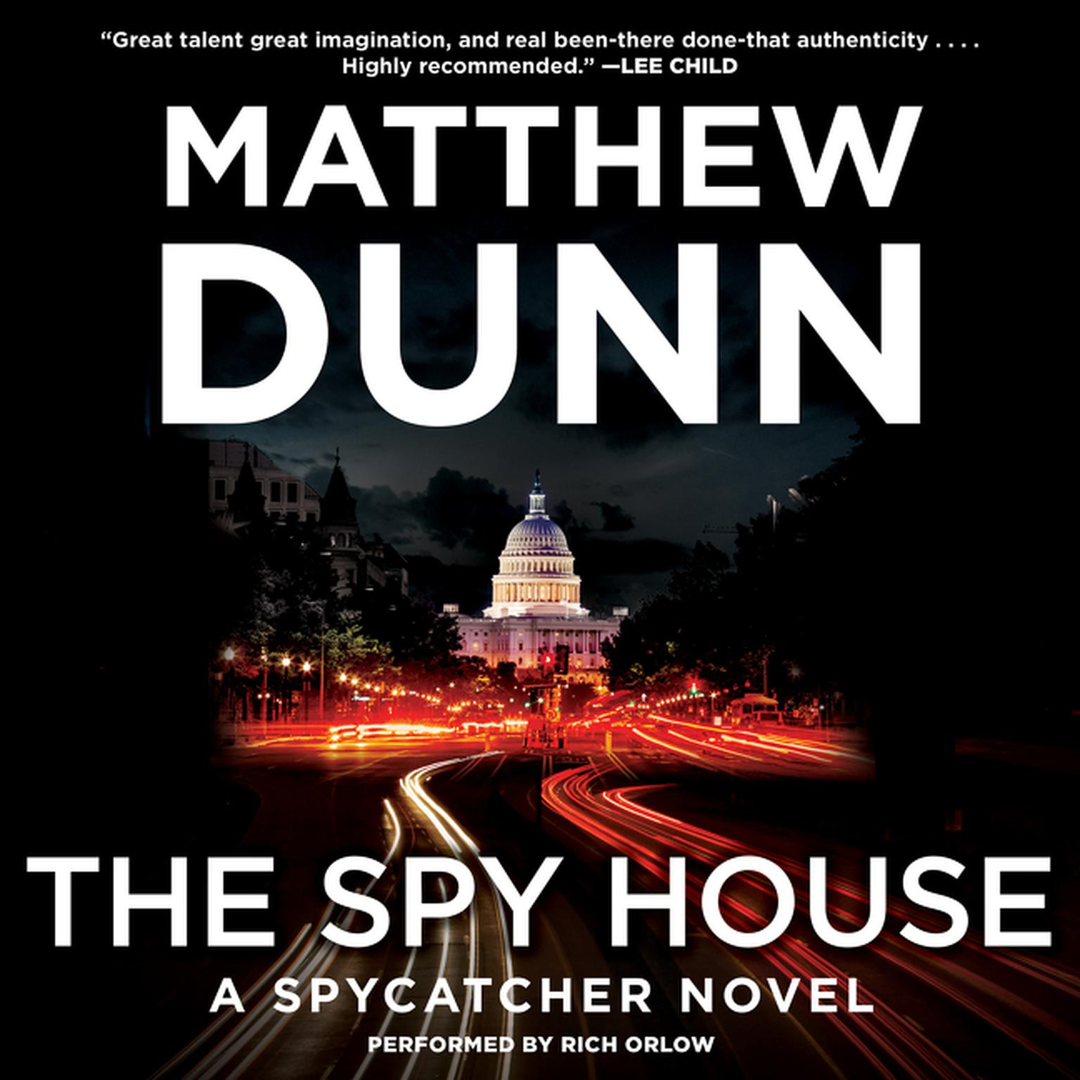 Printable The Spy House: A Spycatcher Novel Audiobook Cover Art