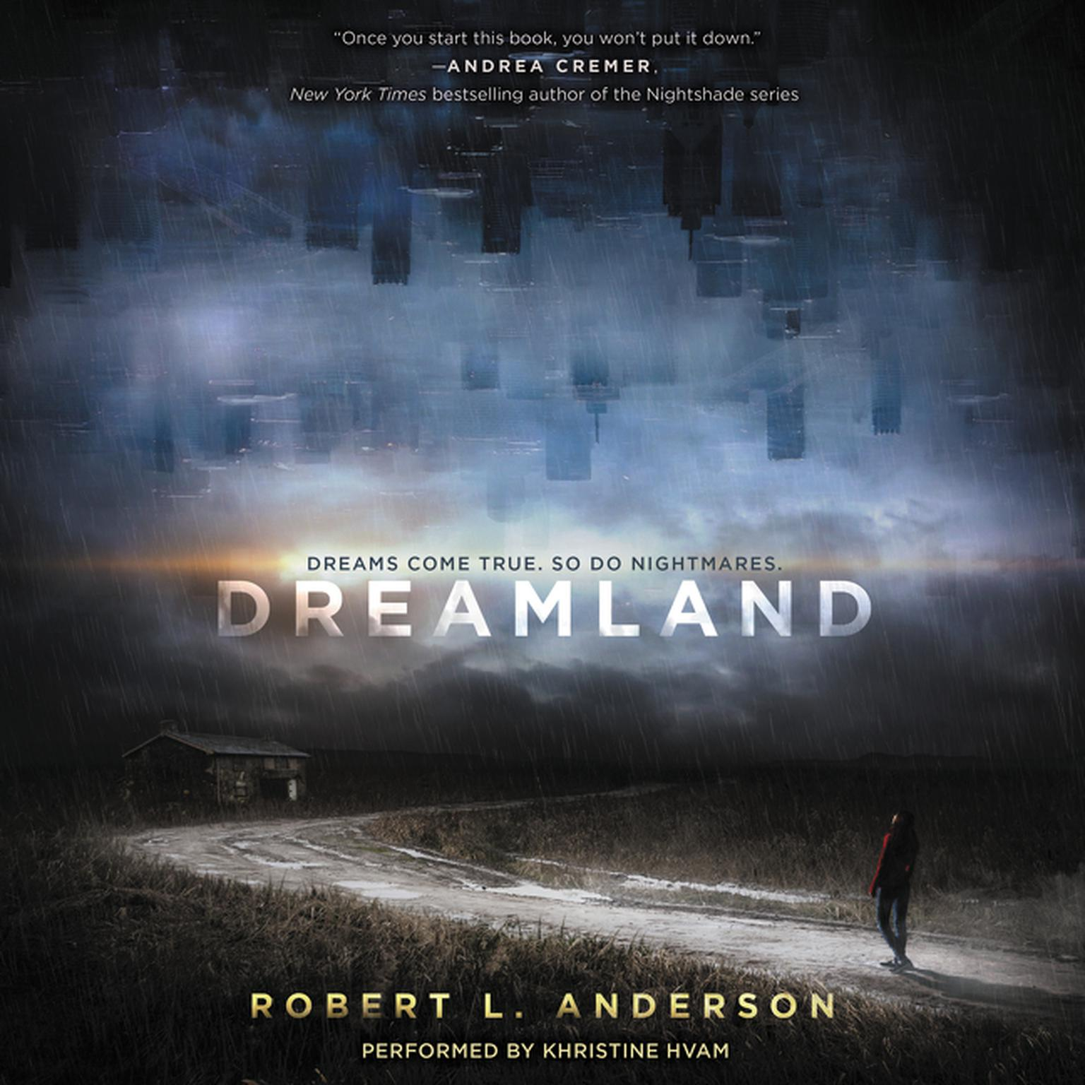 Printable Dreamland Audiobook Cover Art