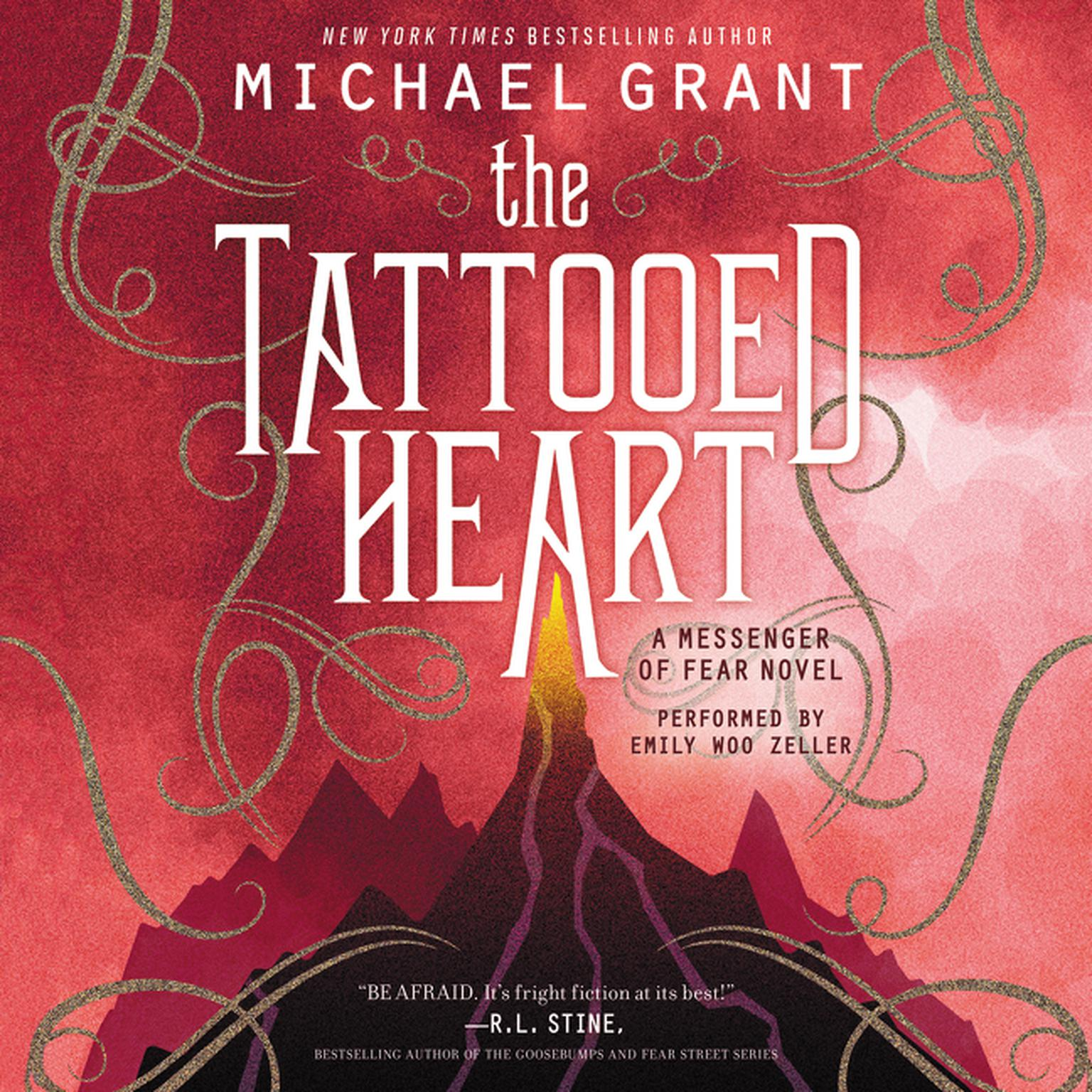 Printable The Tattooed Heart: A Messenger of Fear Novel Audiobook Cover Art