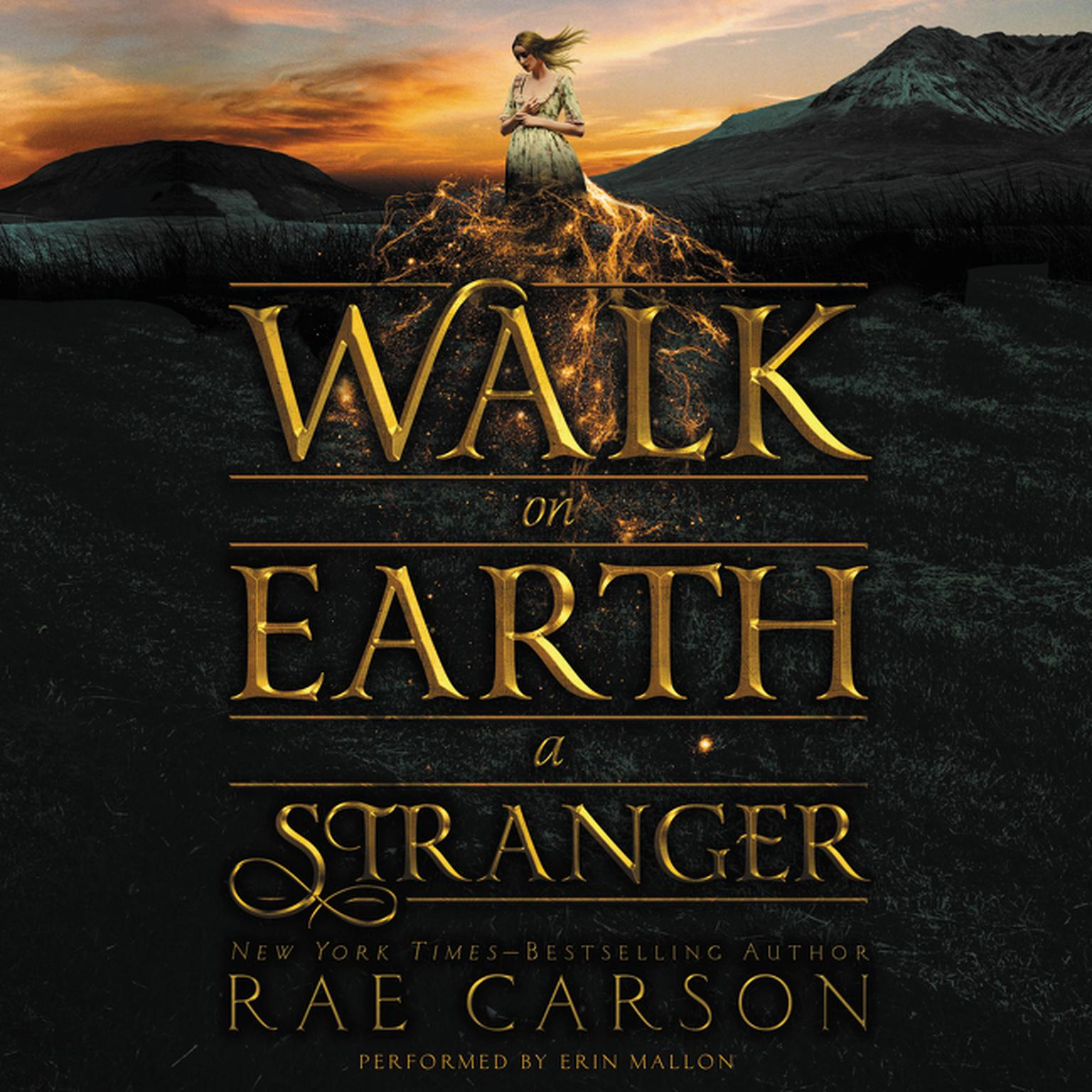 Printable Walk on Earth a Stranger Audiobook Cover Art