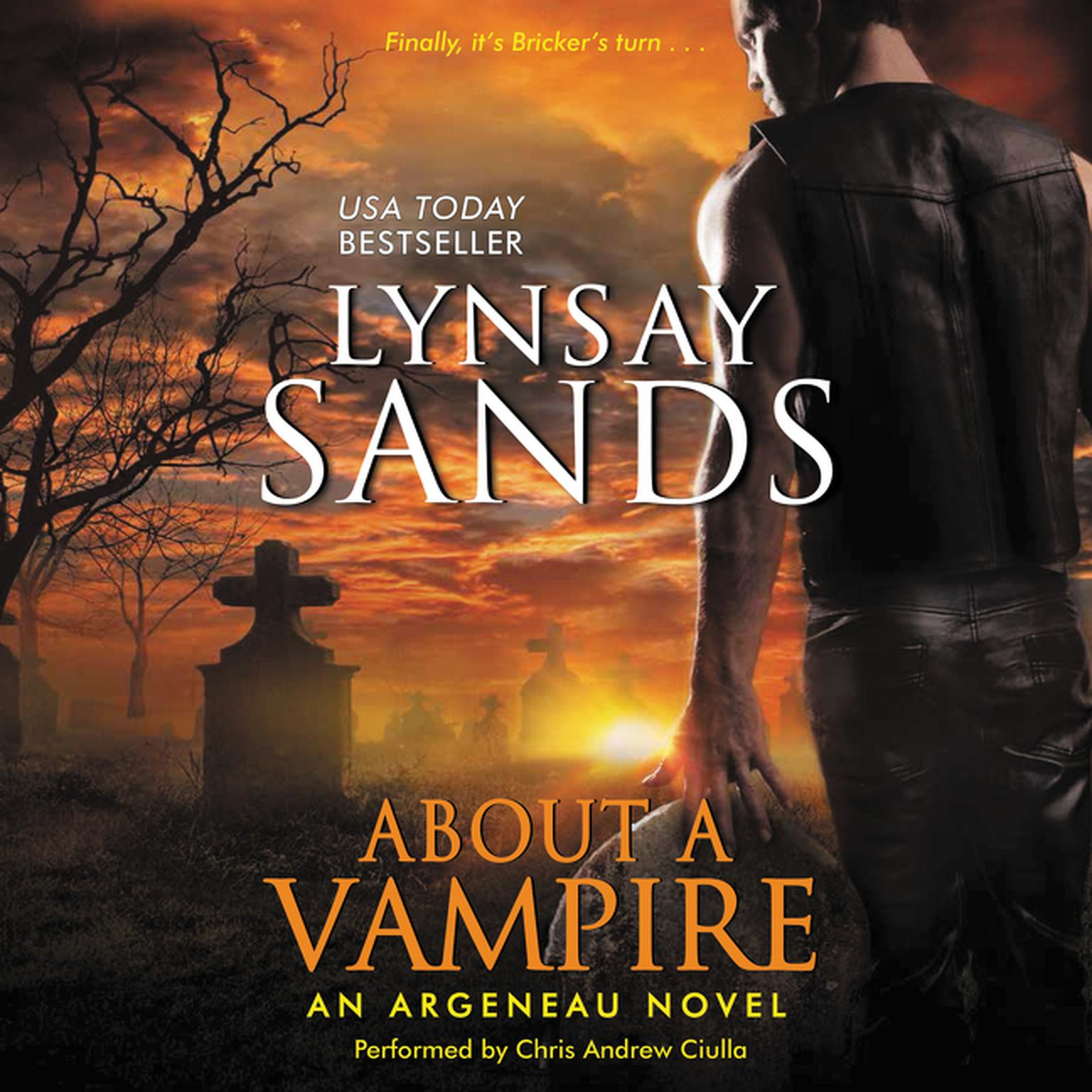 Printable About a Vampire: An Argeneau Novel Audiobook Cover Art