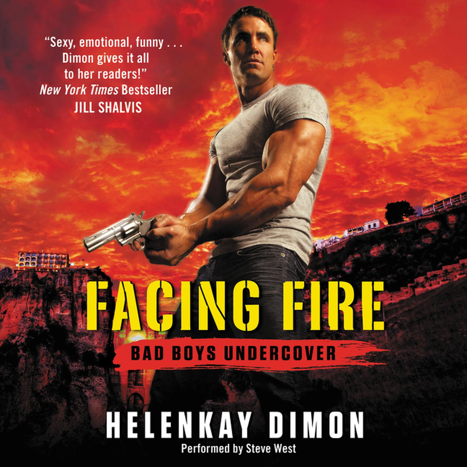 Printable Facing Fire: Bad Boys Undercover Audiobook Cover Art