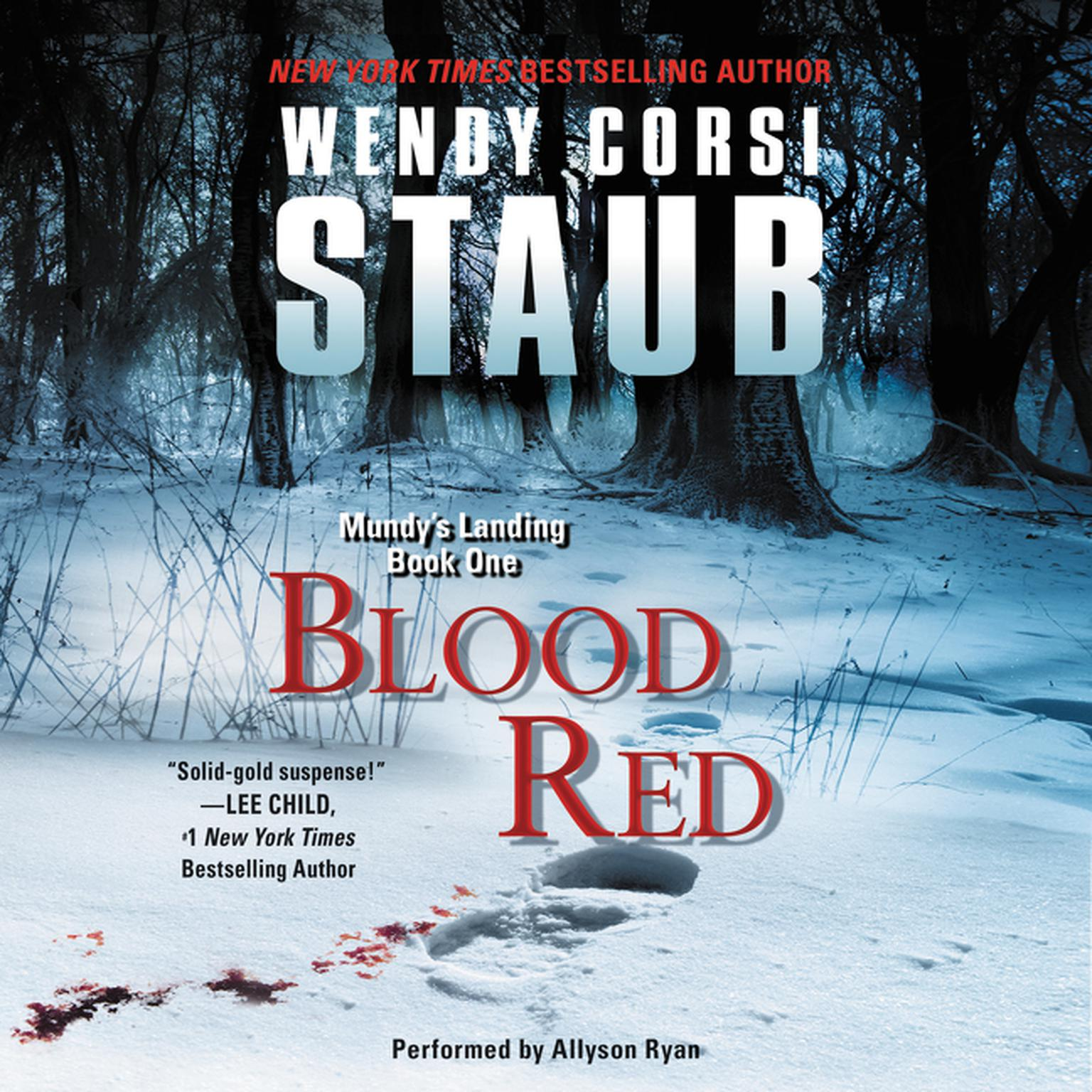Printable Blood Red Audiobook Cover Art