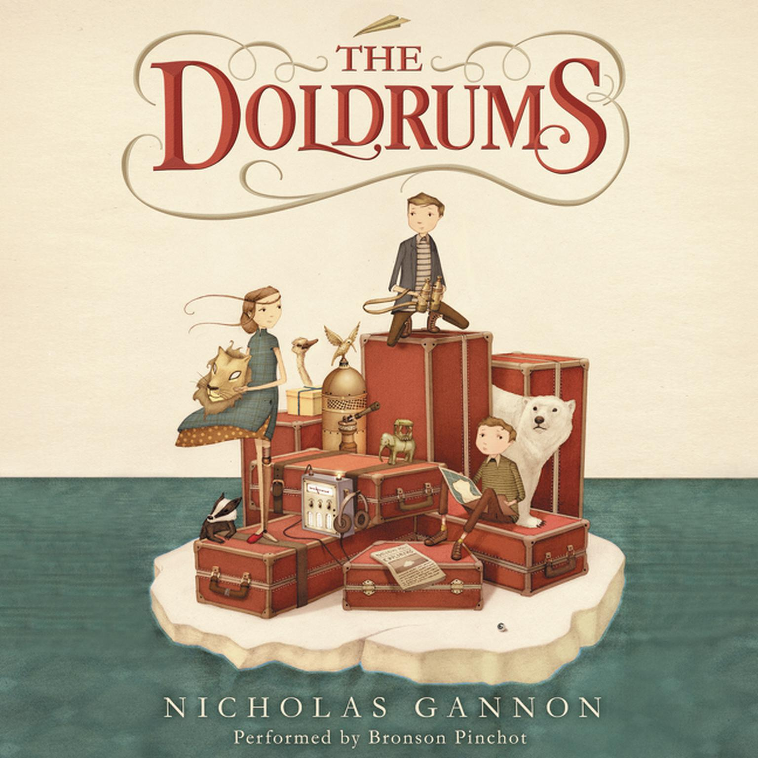 Printable The Doldrums Audiobook Cover Art
