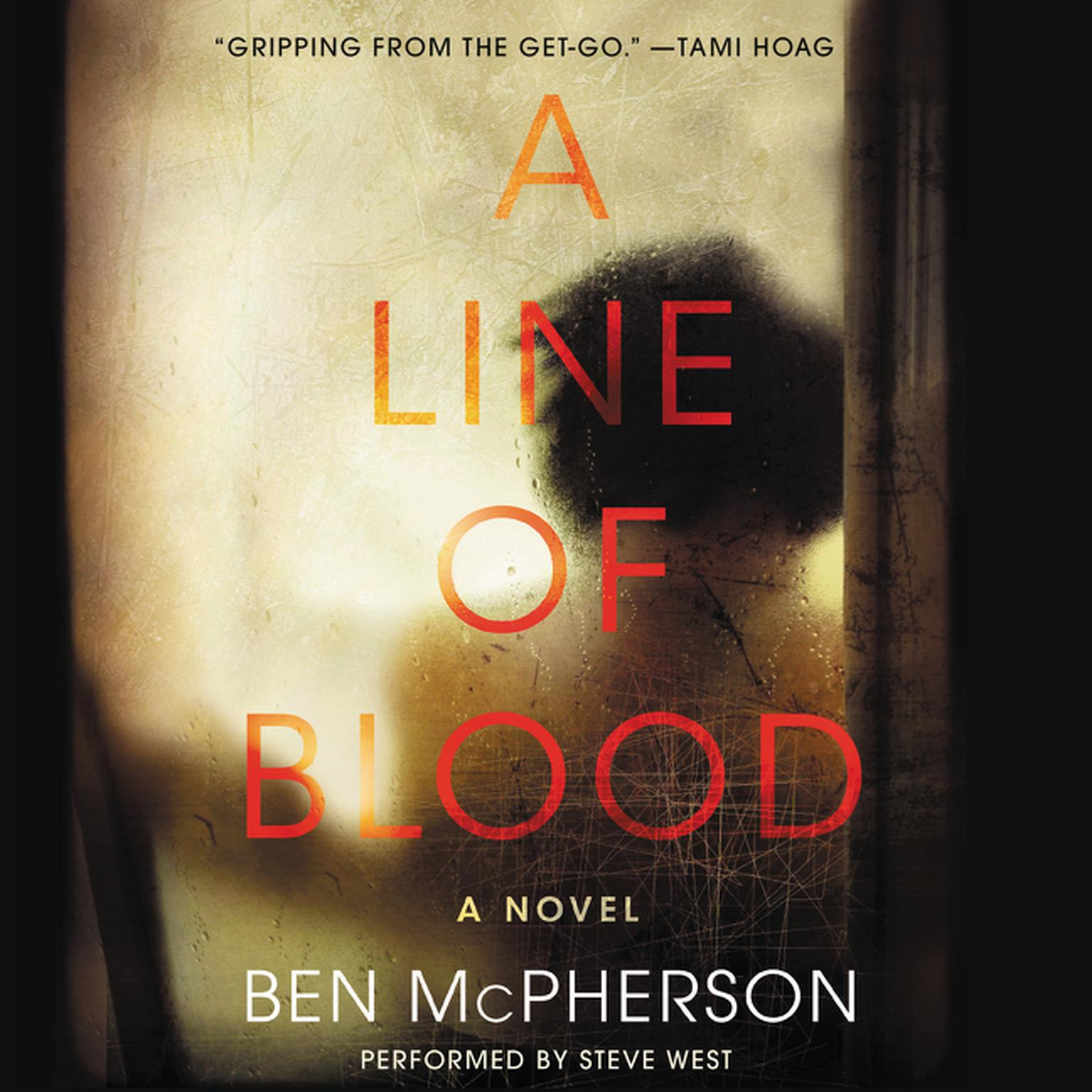 Printable A Line of Blood: A Novel Audiobook Cover Art