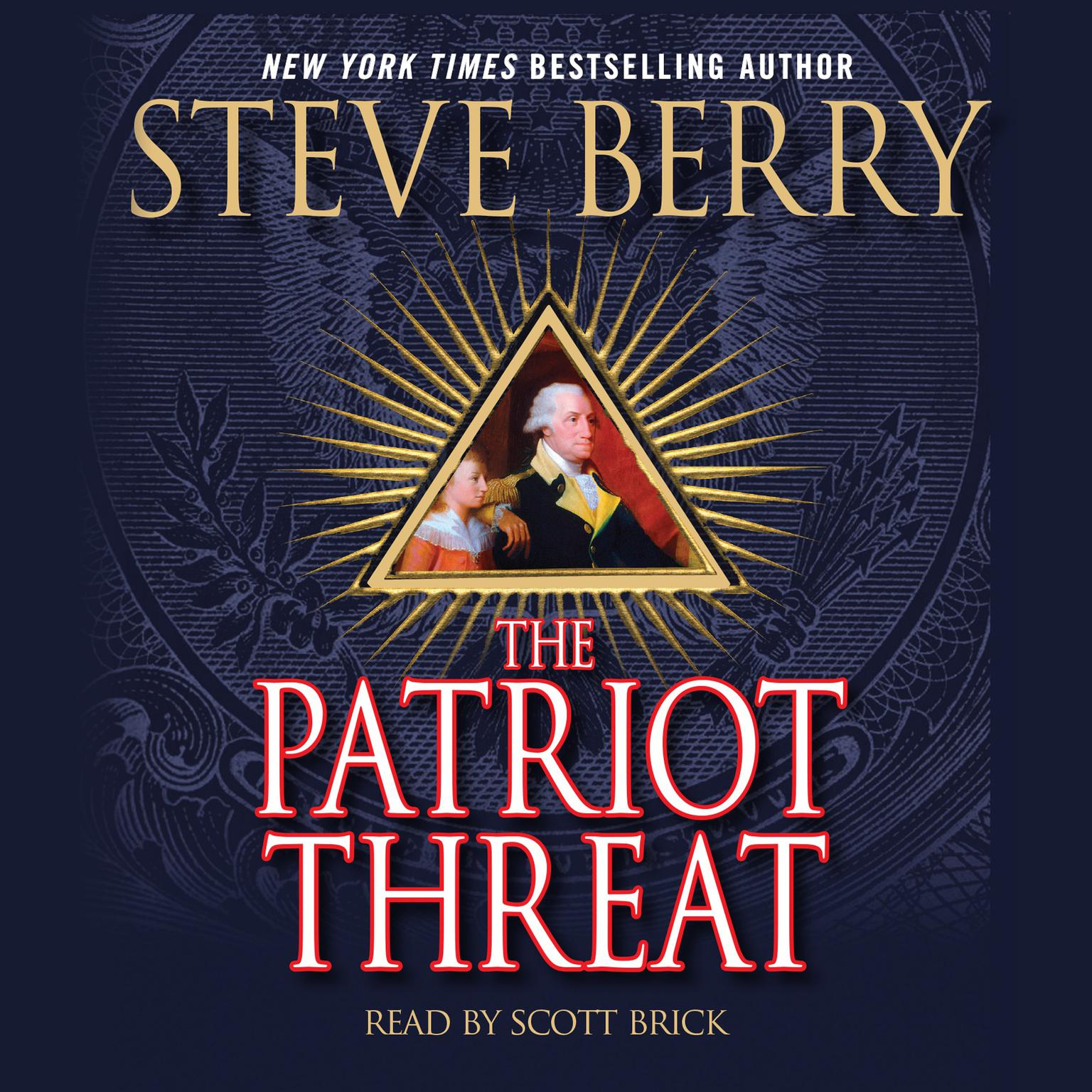 Printable The Patriot Threat: A Novel Audiobook Cover Art