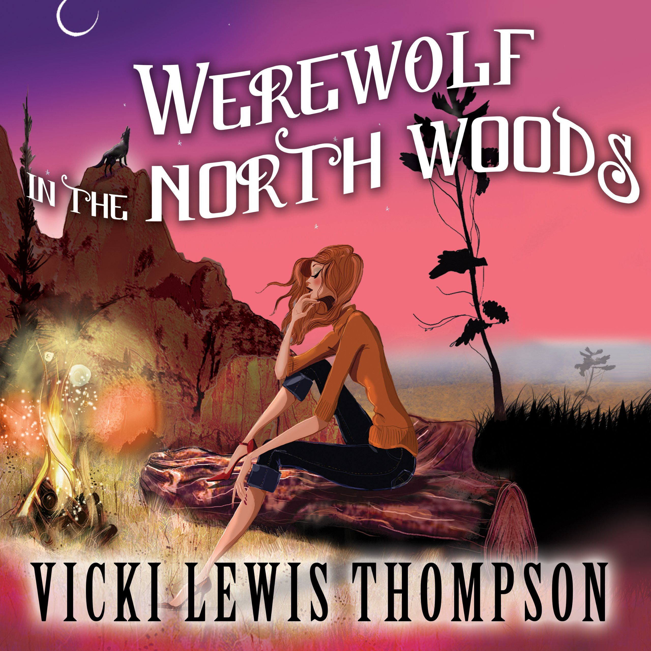 Printable Werewolf in the North Woods Audiobook Cover Art