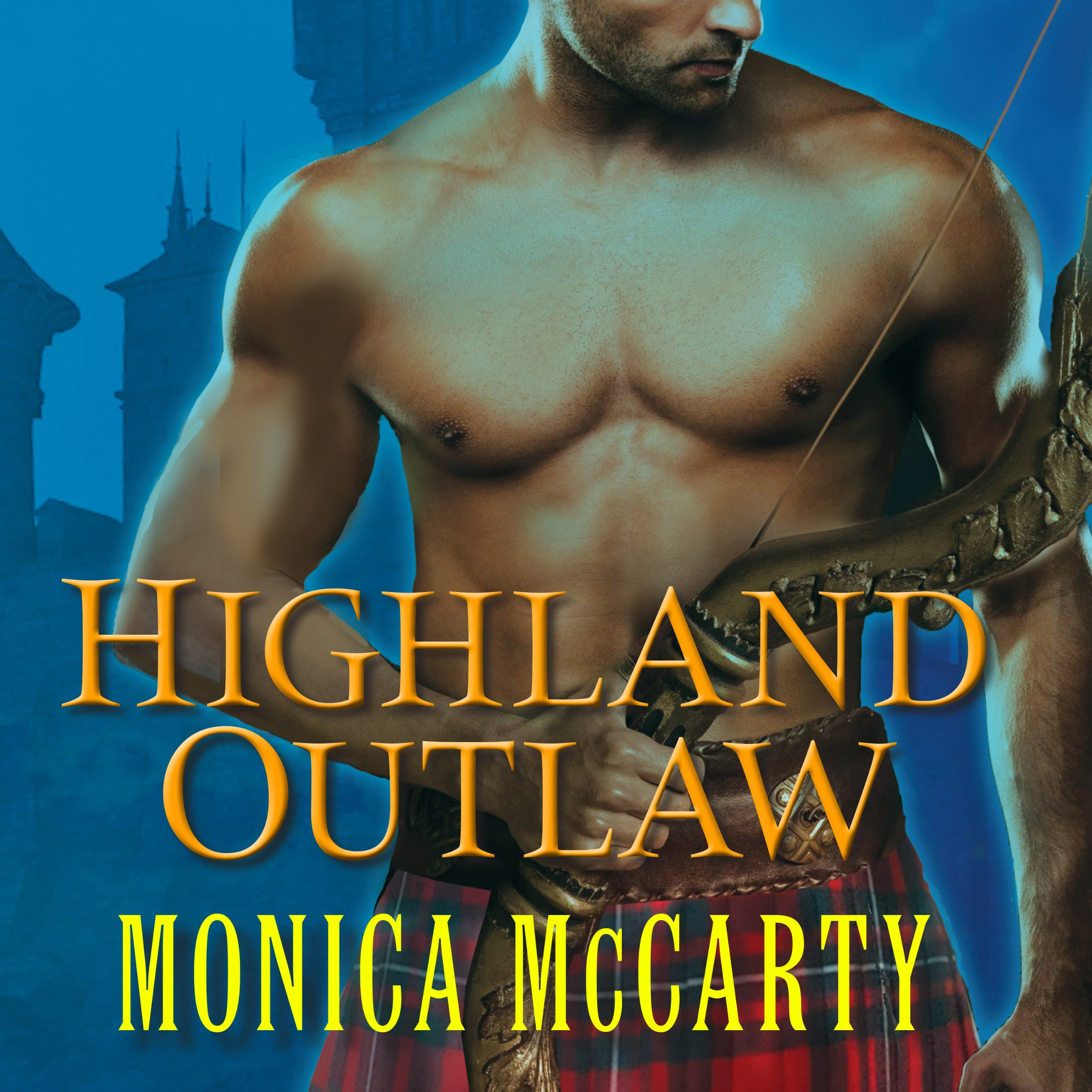 Printable Highland Outlaw: A Novel Audiobook Cover Art