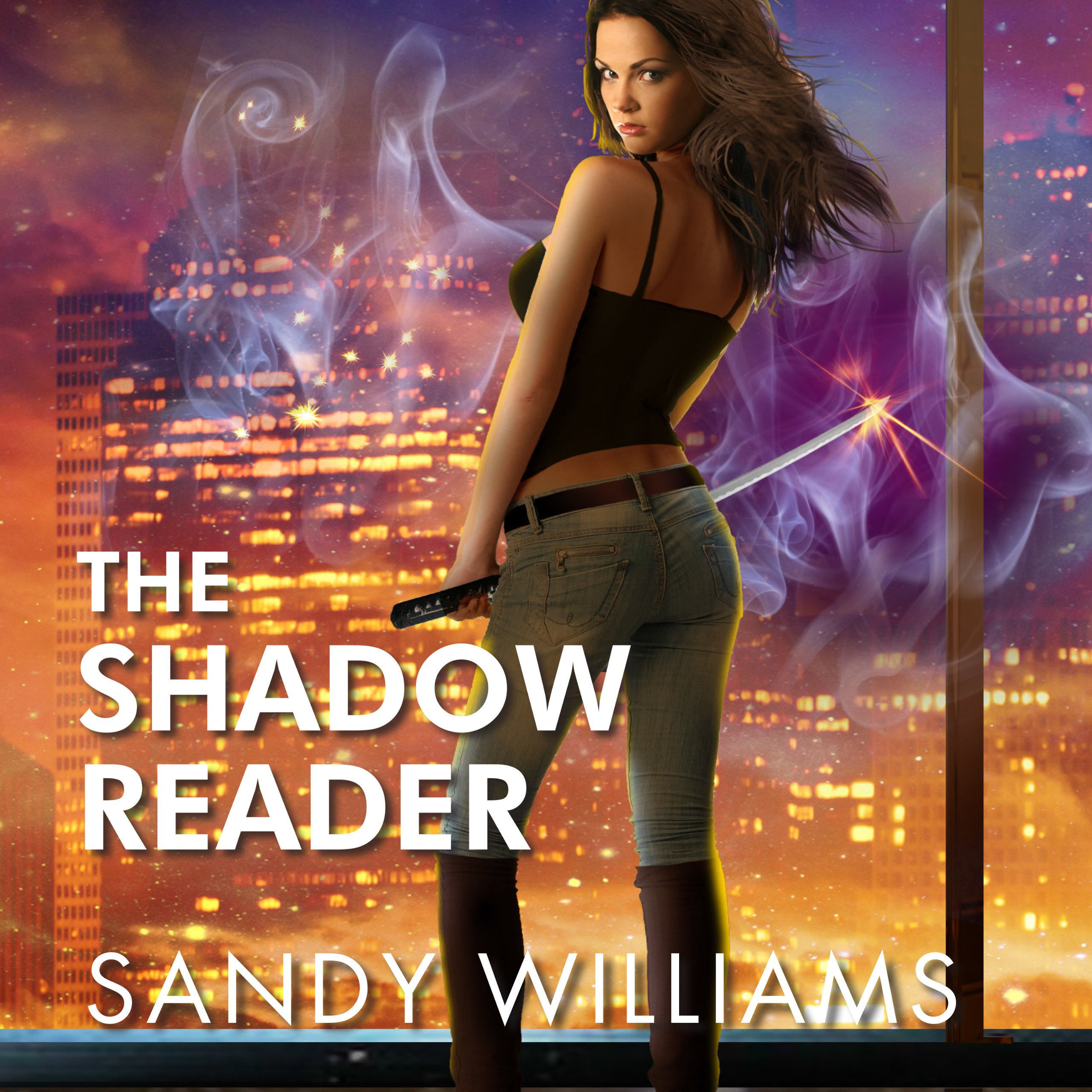 Printable The Shadow Reader Audiobook Cover Art