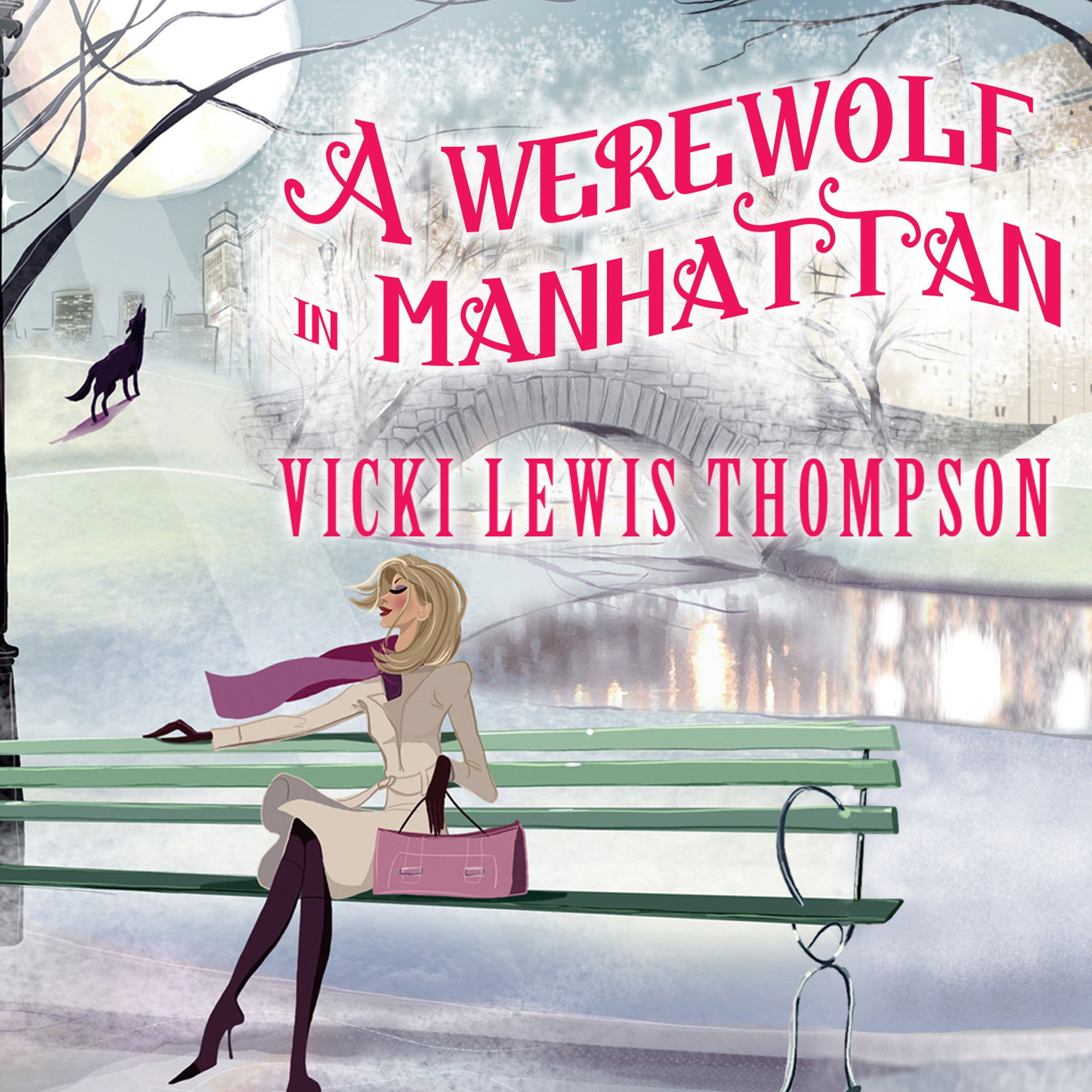 Printable A Werewolf in Manhattan Audiobook Cover Art