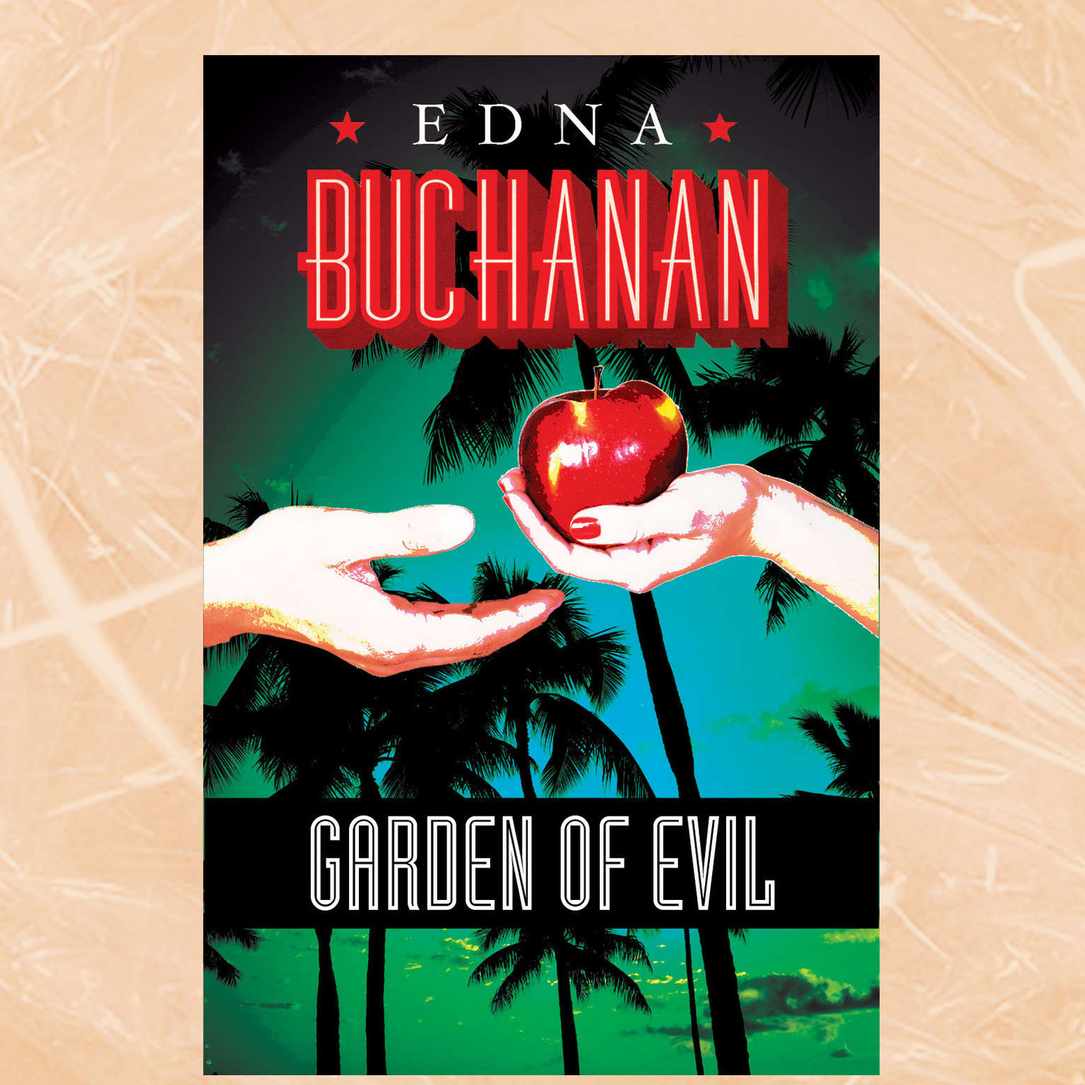 Printable Garden of Evil Audiobook Cover Art