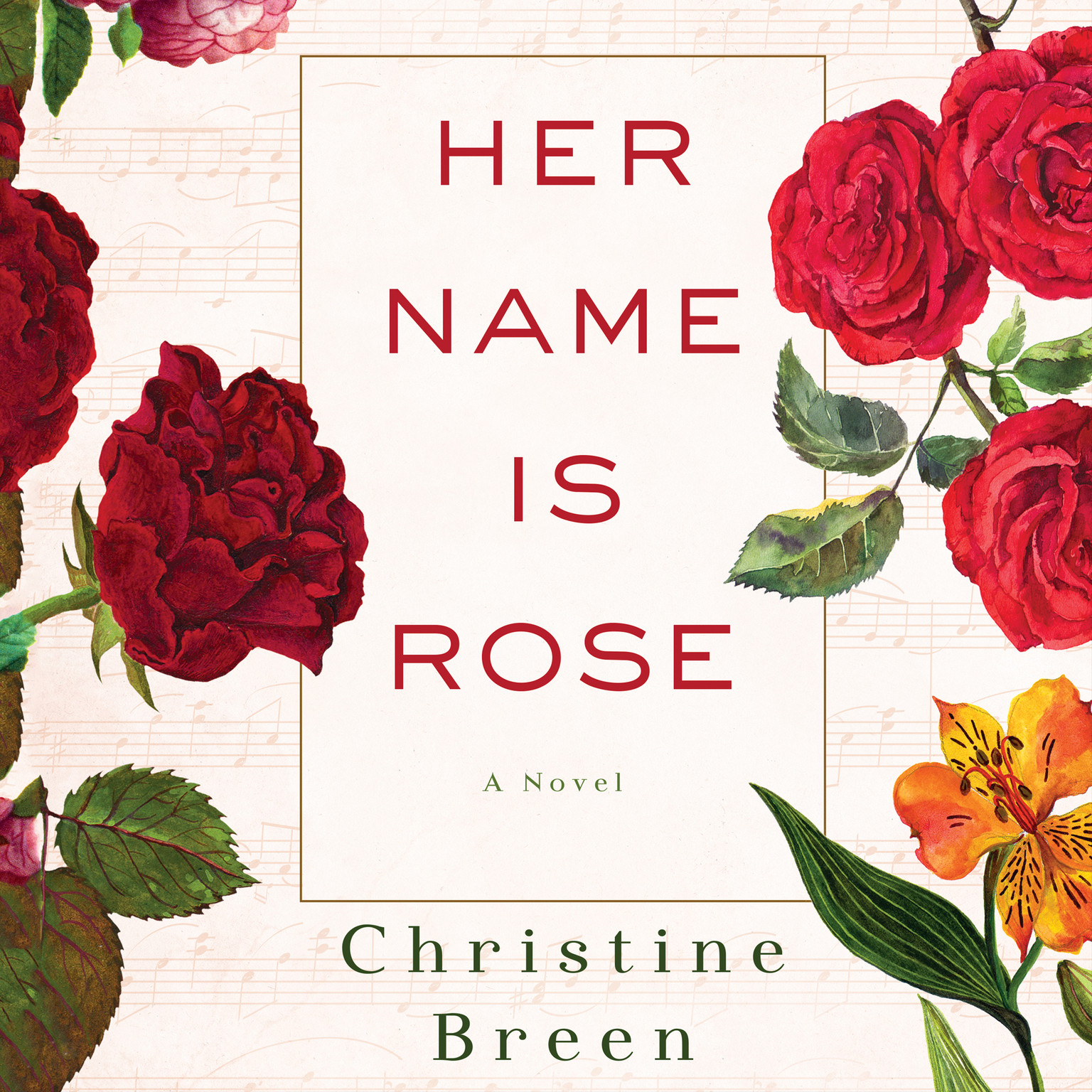 Printable Her Name Is Rose: A Novel Audiobook Cover Art