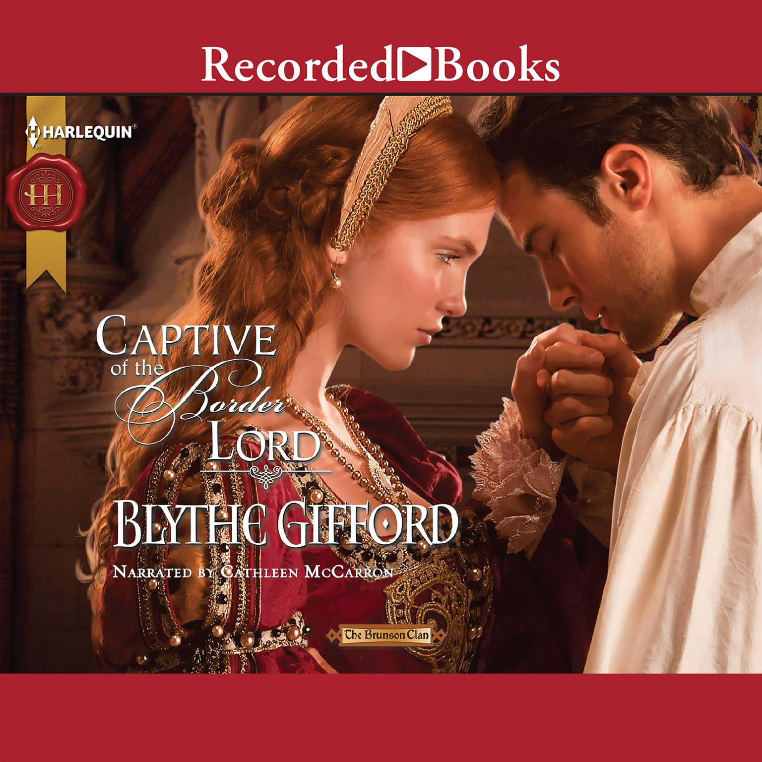 Printable Captive of the Border Lord Audiobook Cover Art