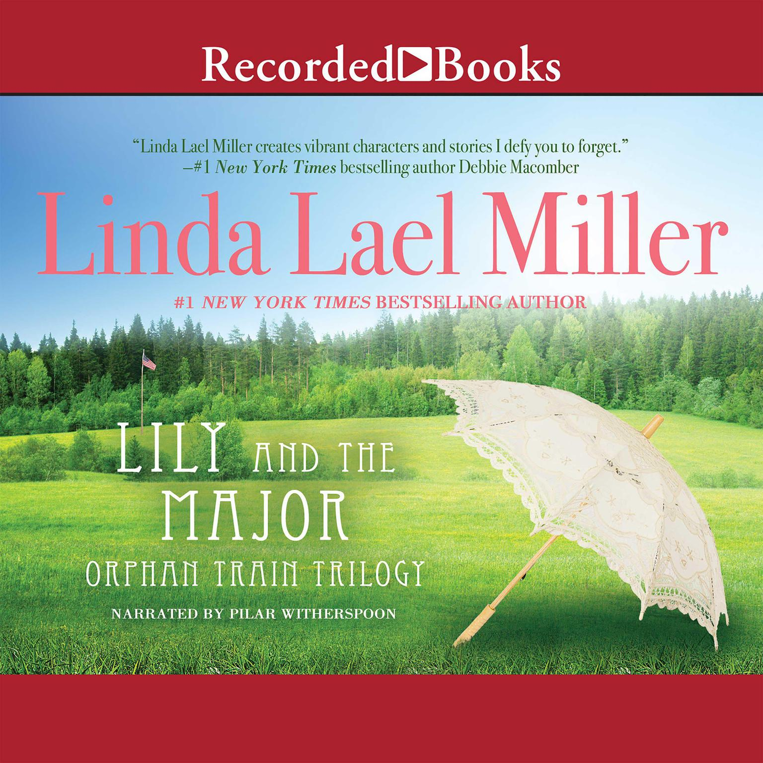 Printable Lily and the Major Audiobook Cover Art