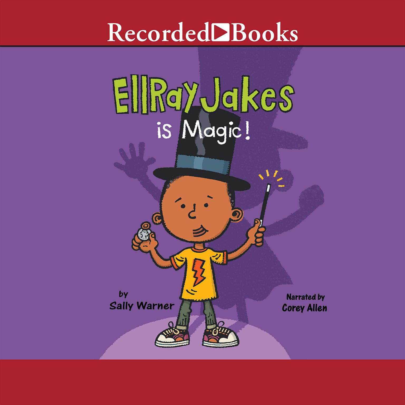 Printable EllRay Jakes Is Magic Audiobook Cover Art