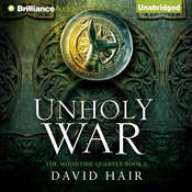 Unholy War Audiobook, by David Hair