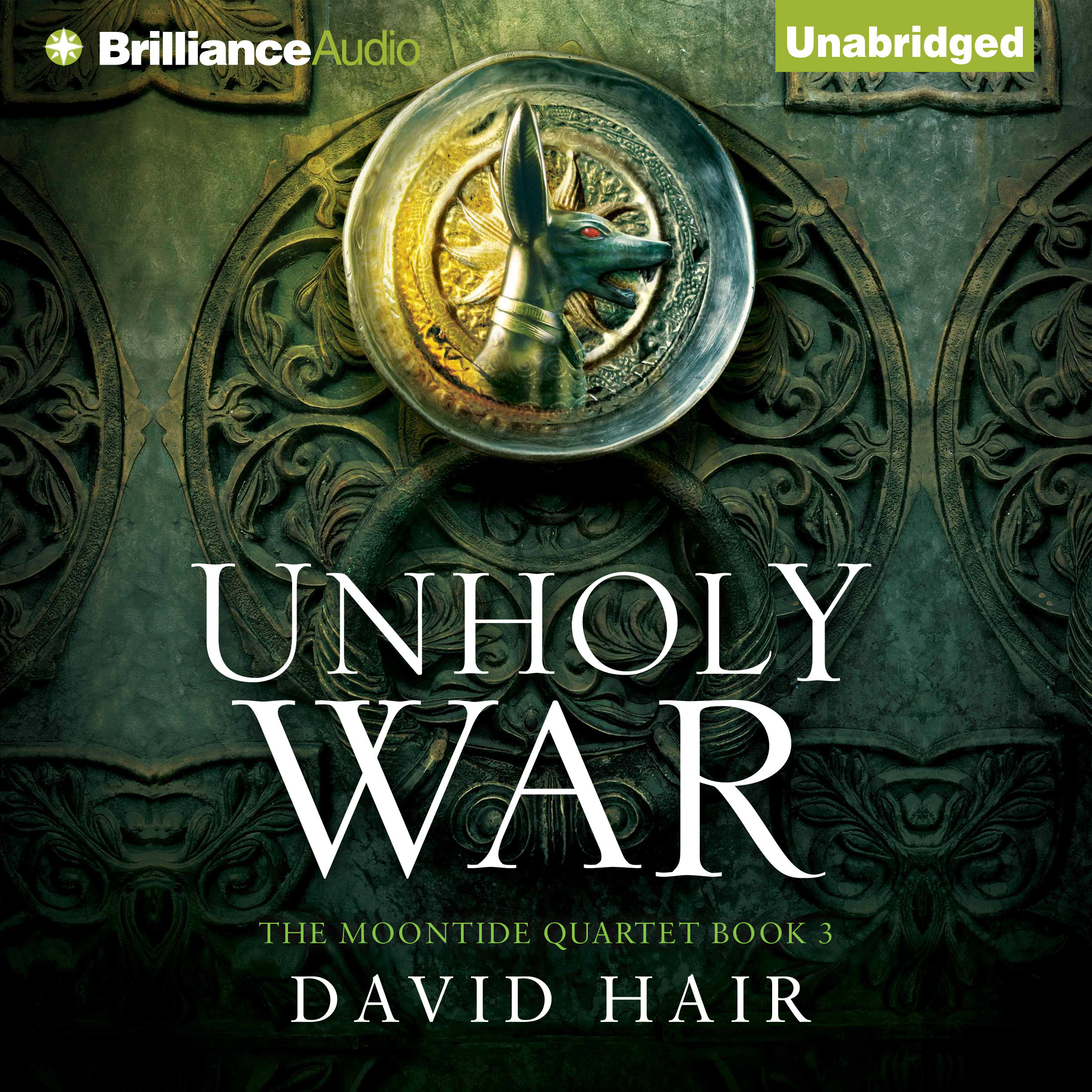 Printable Unholy War Audiobook Cover Art