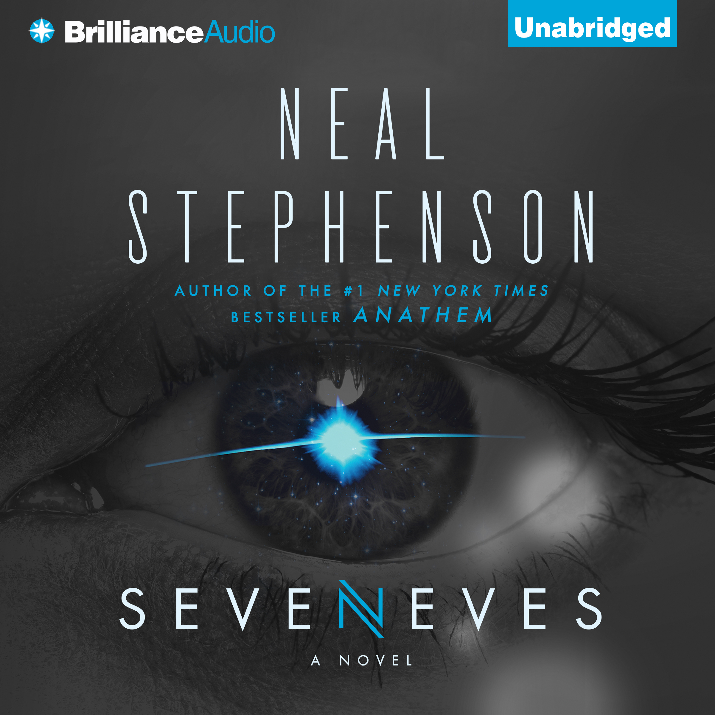 Printable Seveneves: A Novel Audiobook Cover Art