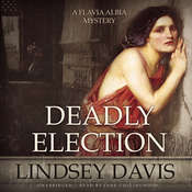 Deadly Election Audiobook, by Lindsey Davis