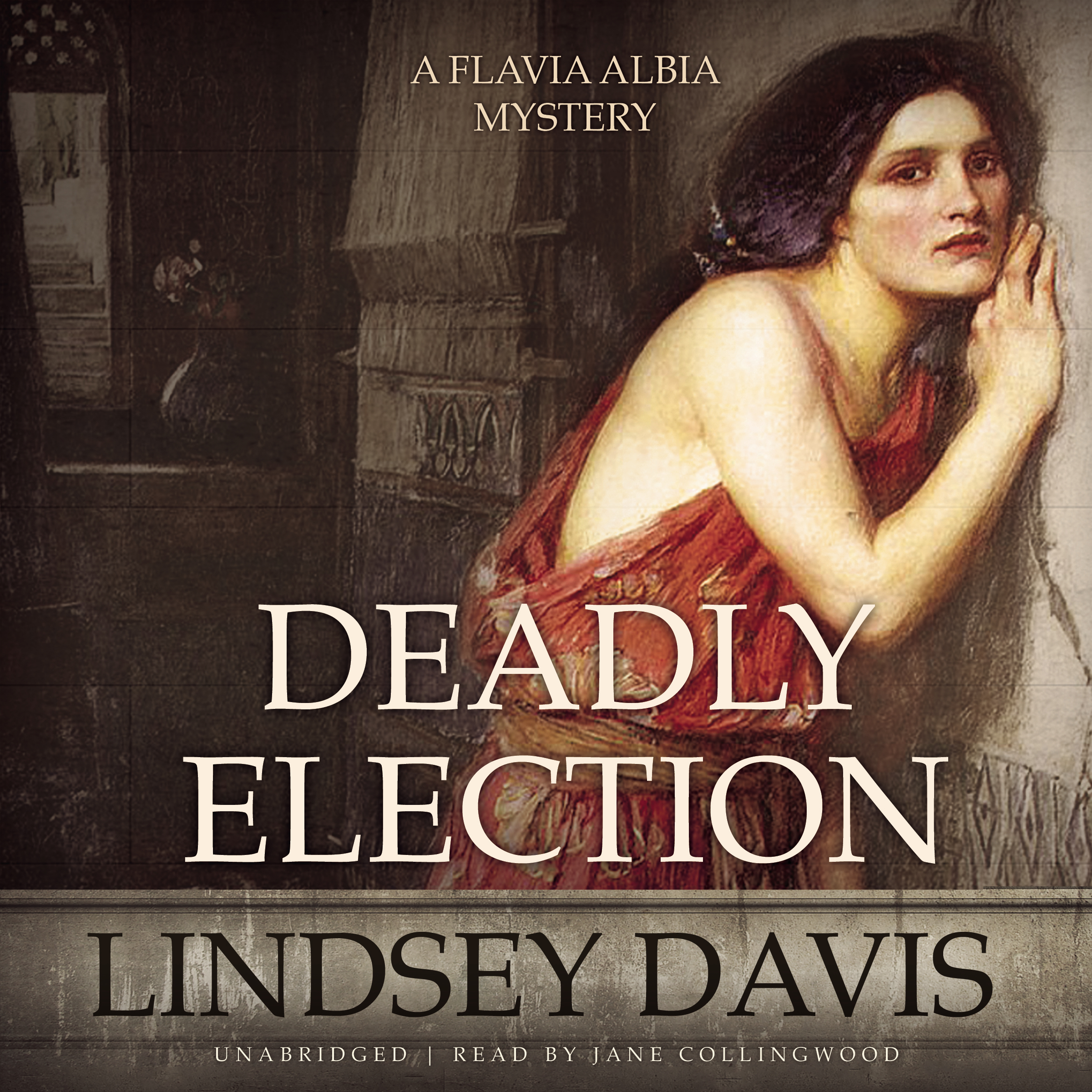 Printable Deadly Election Audiobook Cover Art