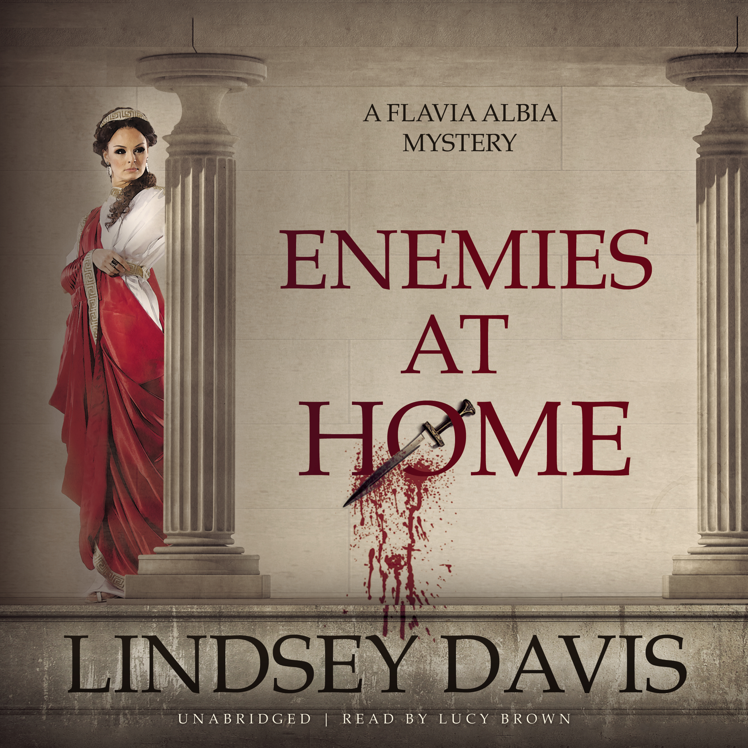 Printable Enemies at Home Audiobook Cover Art