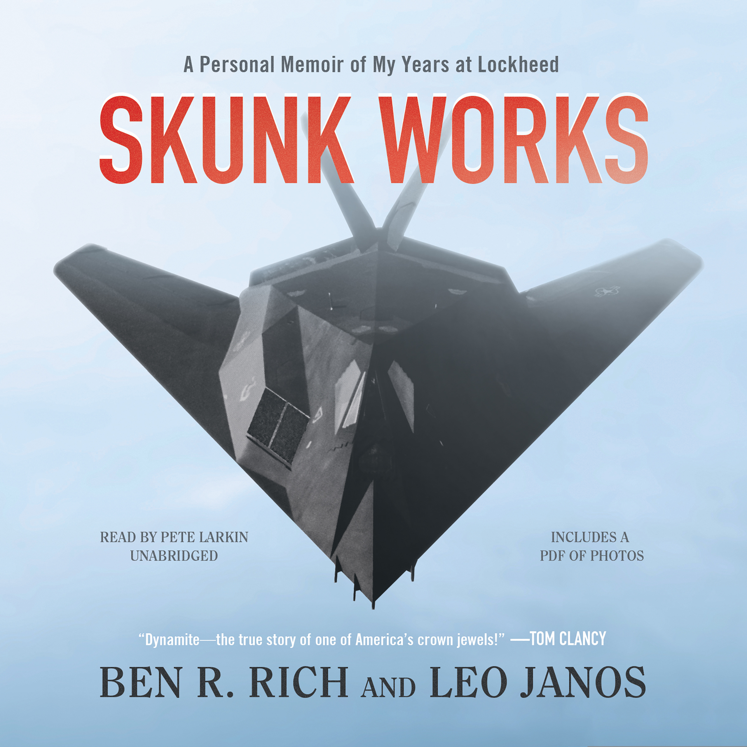 Printable Skunk Works: A Personal Memoir of My Years at Lockheed Audiobook Cover Art