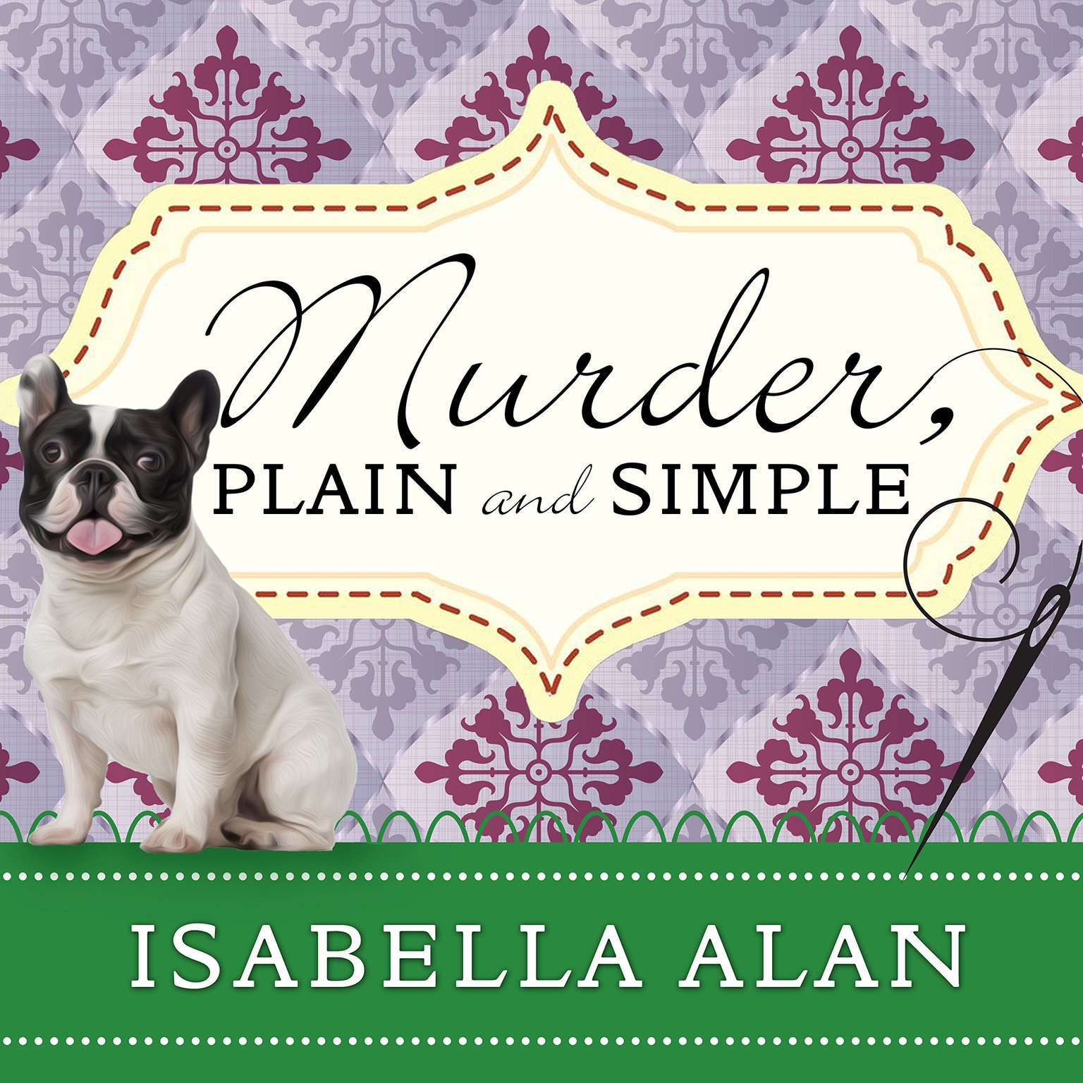Printable Murder, Plain and Simple Audiobook Cover Art