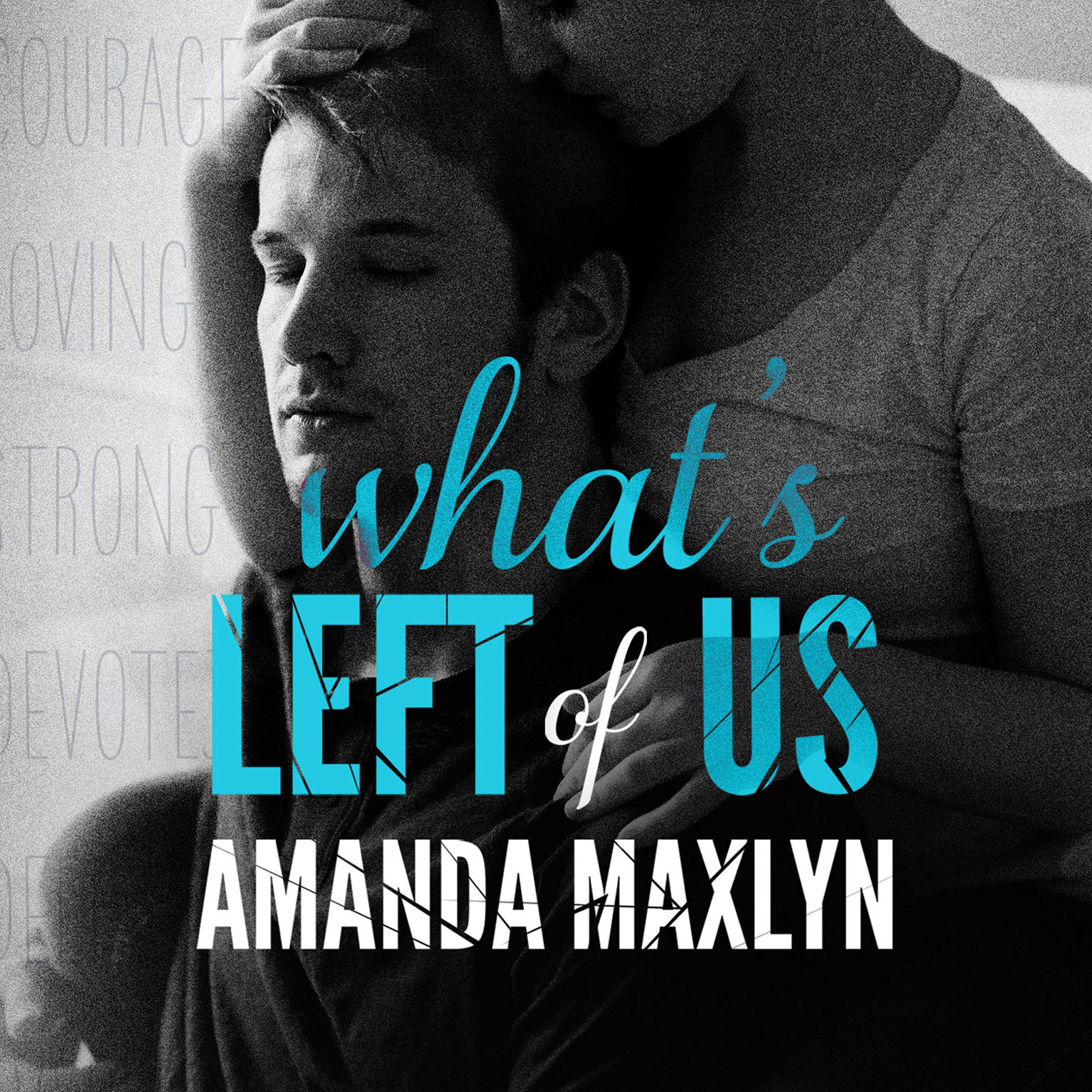 Printable What's Left of Us Audiobook Cover Art
