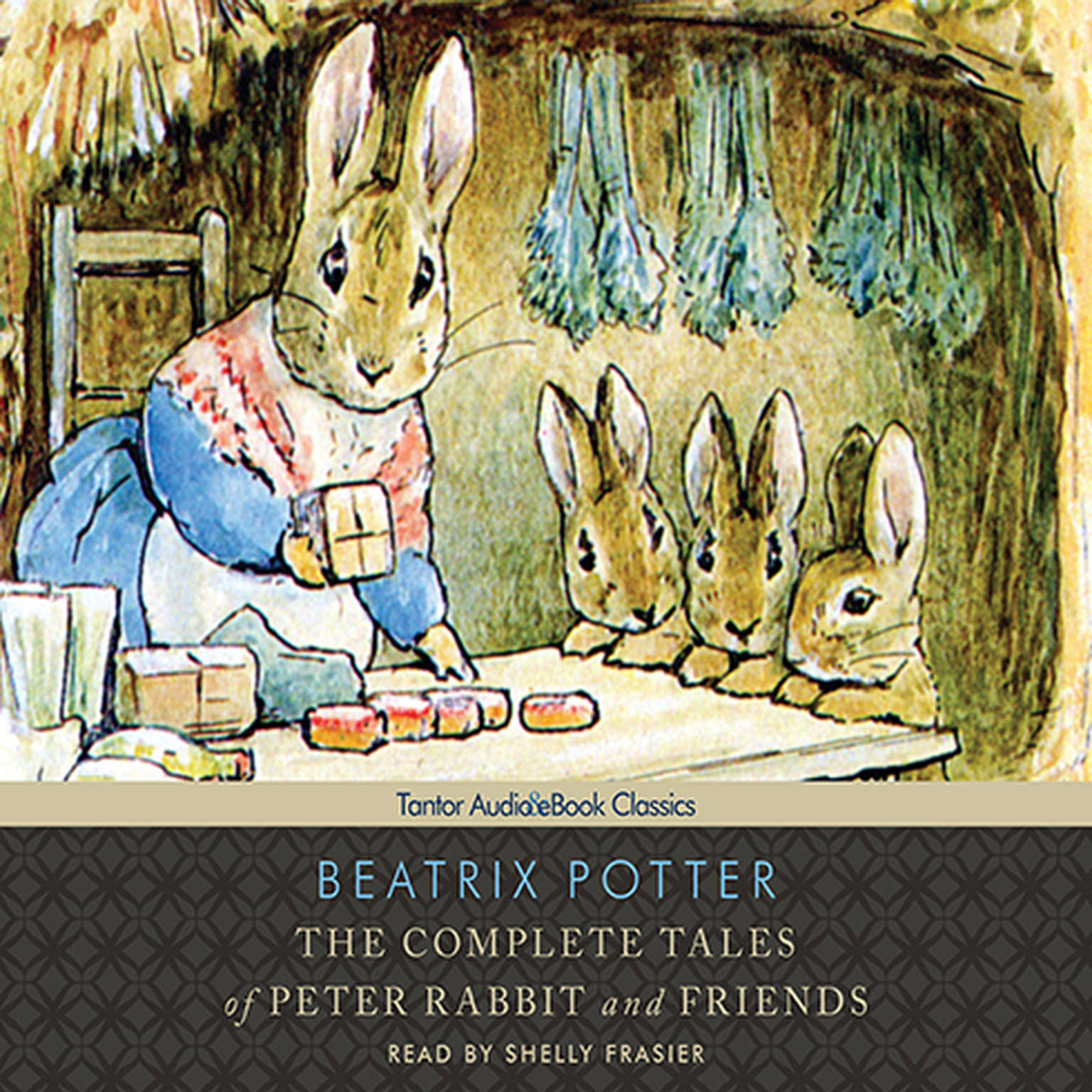 Printable The Complete Tales of Peter Rabbit and Friends, with eBook Audiobook Cover Art