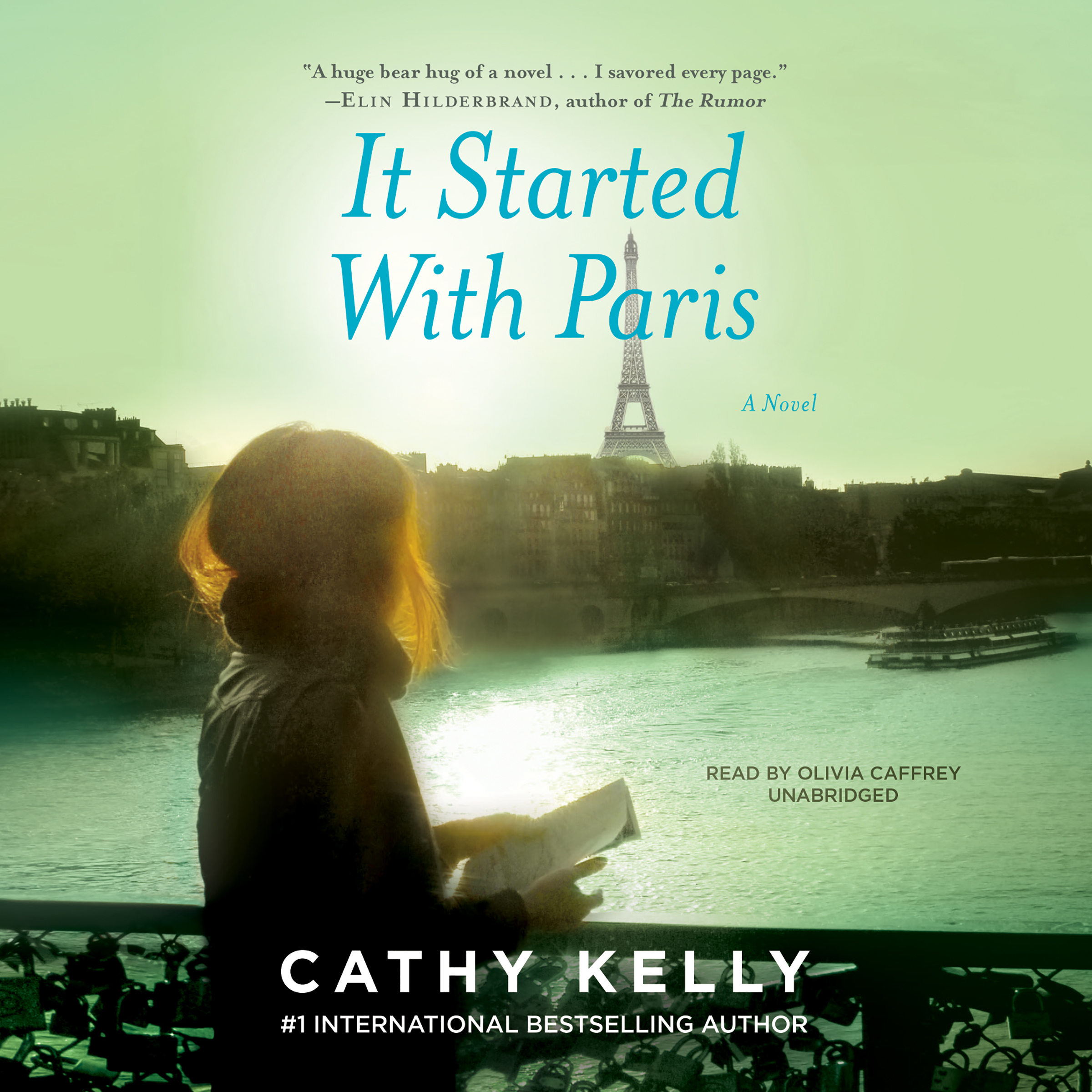 Printable It Started with Paris Audiobook Cover Art