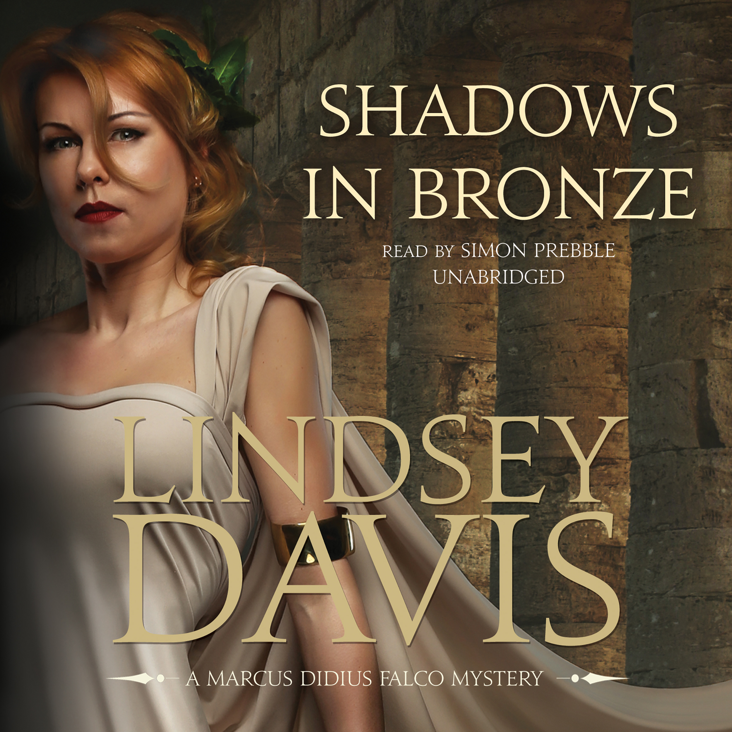 Printable Shadows in Bronze Audiobook Cover Art